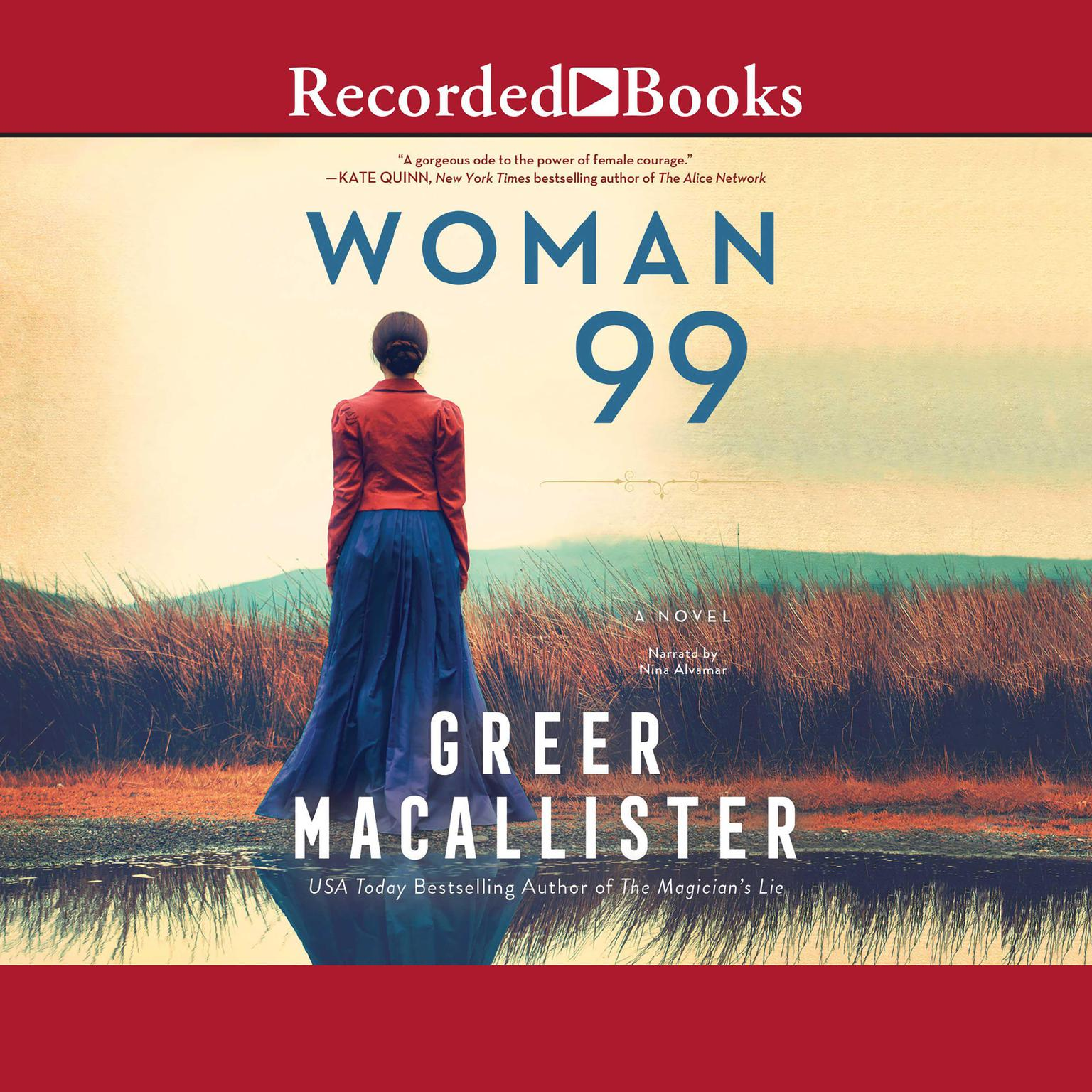 Printable Woman 99: A Novel Audiobook Cover Art