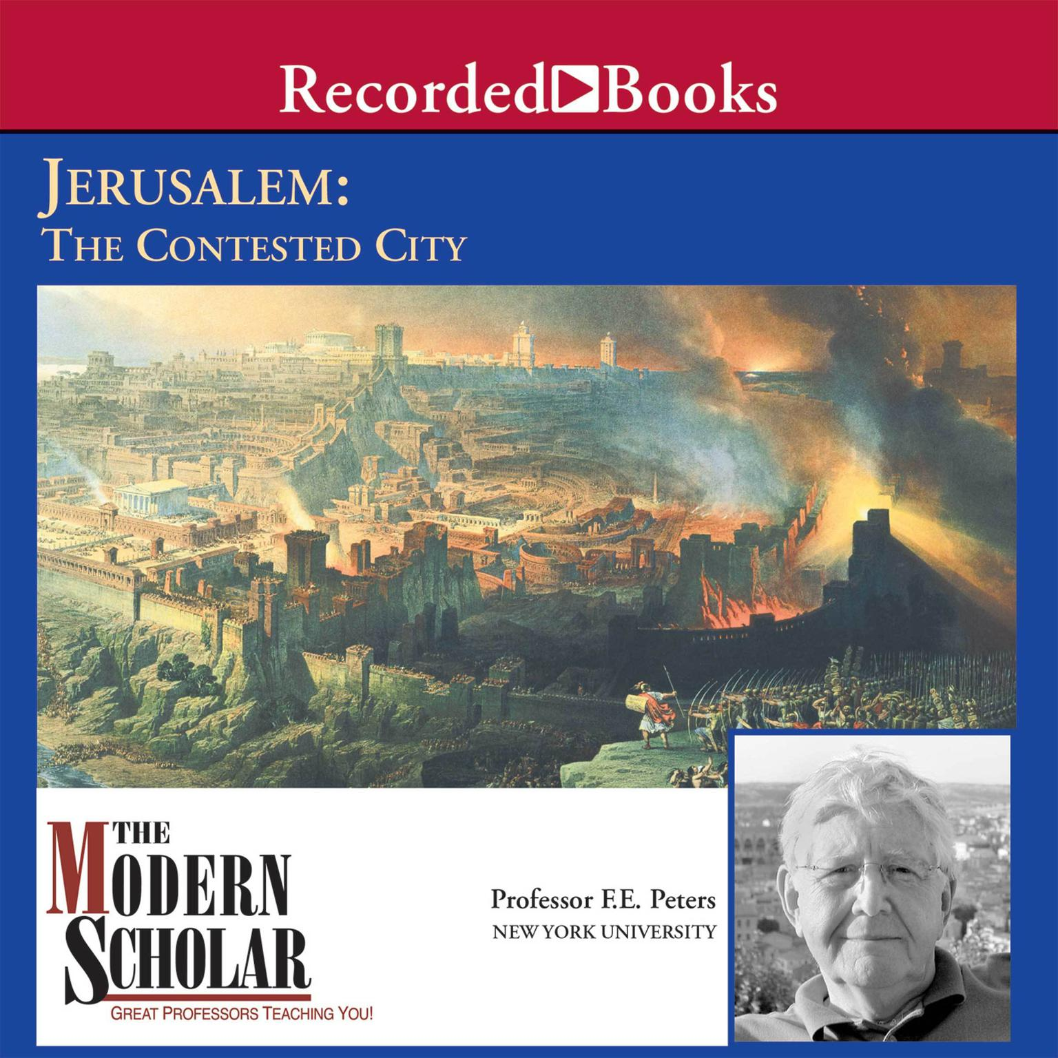 Printable Jerusalem: The Contested City Audiobook Cover Art