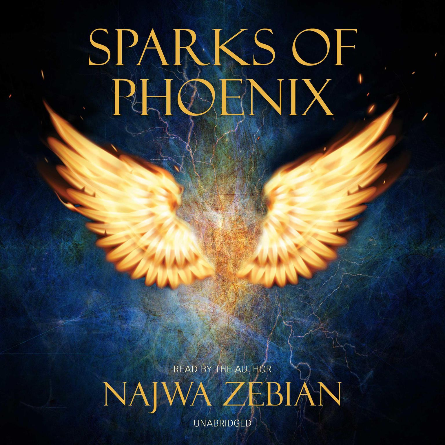 Printable Sparks of Phoenix Audiobook Cover Art