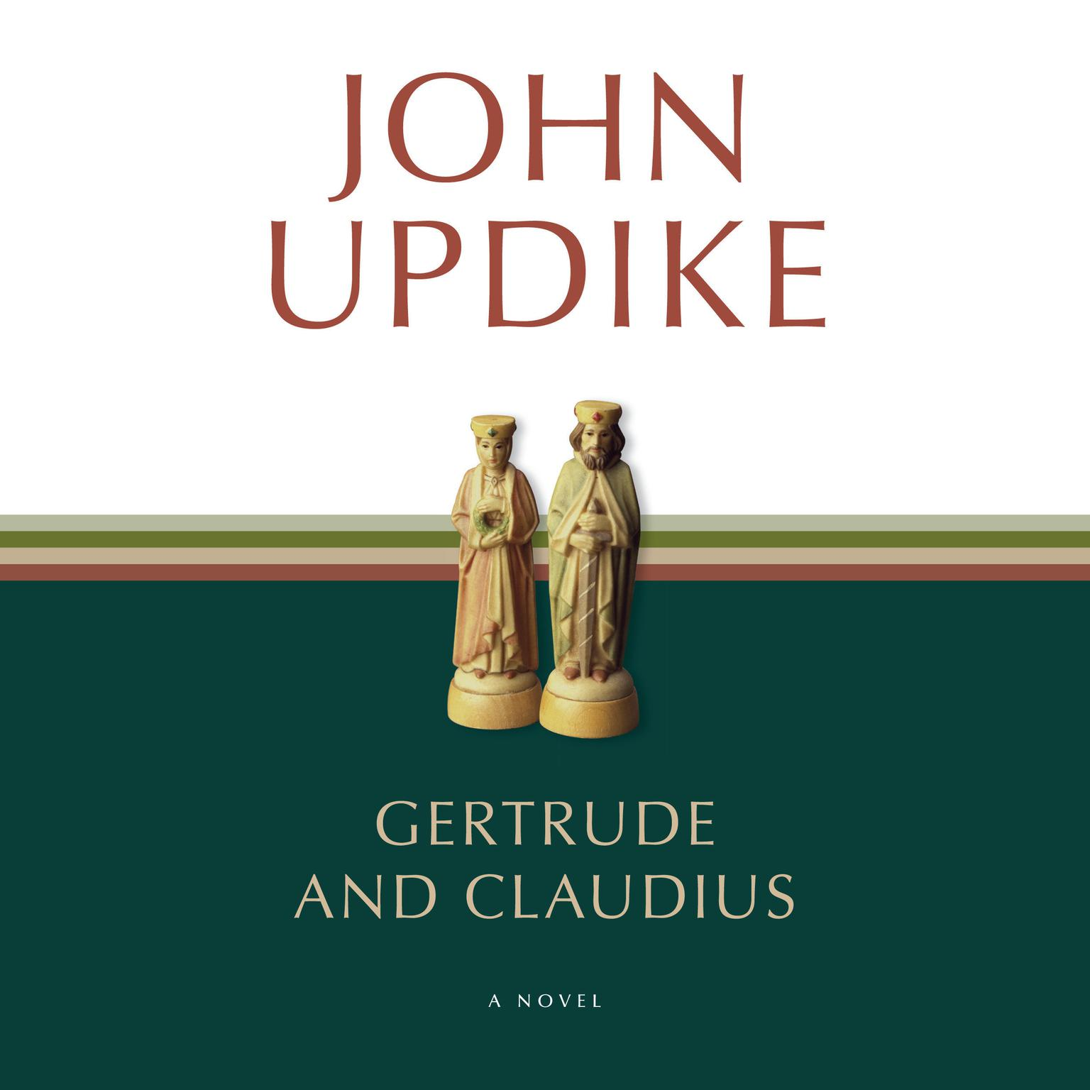 Printable Gertrude and Claudius: A Novel Audiobook Cover Art