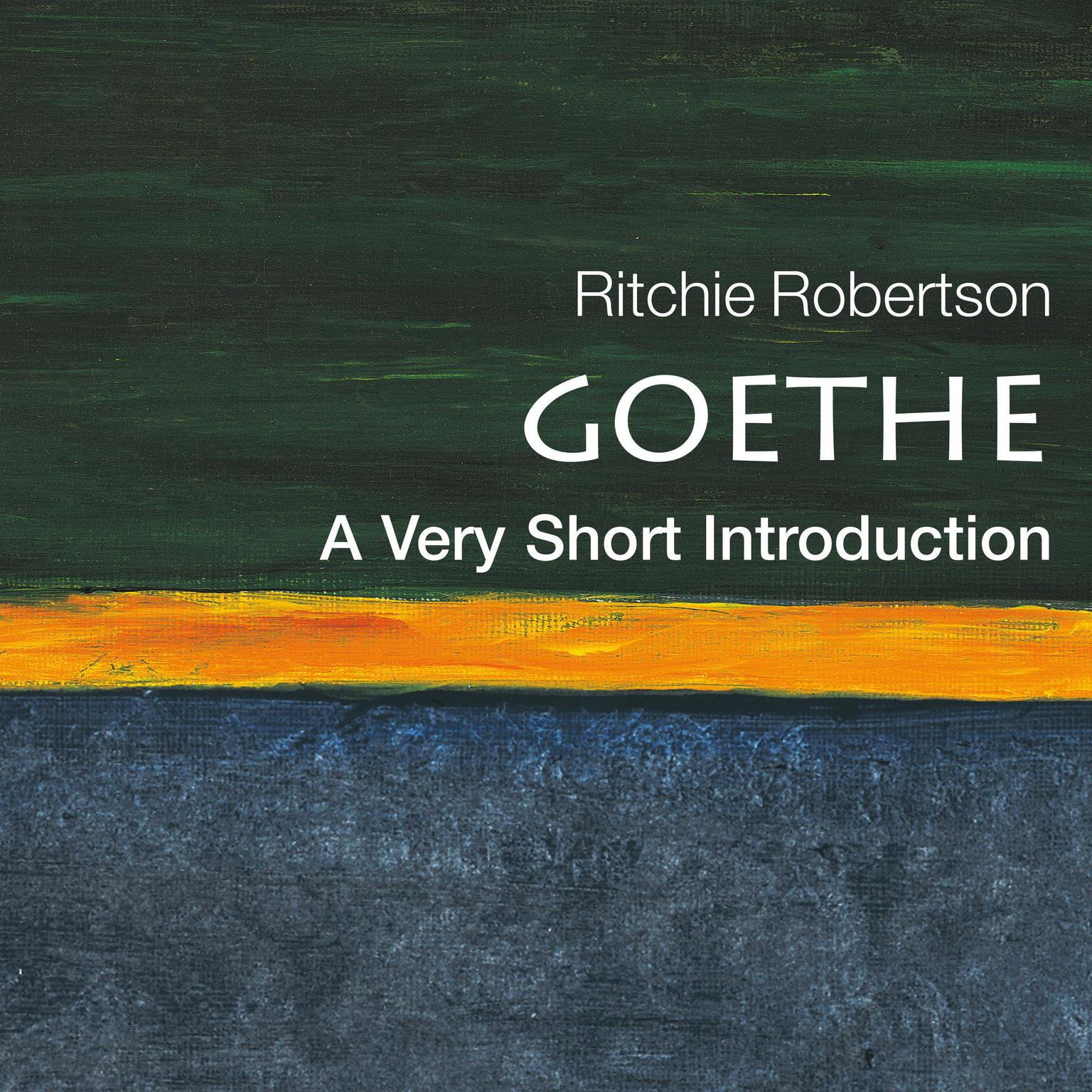Printable Goethe: A Very Short Introduction Audiobook Cover Art