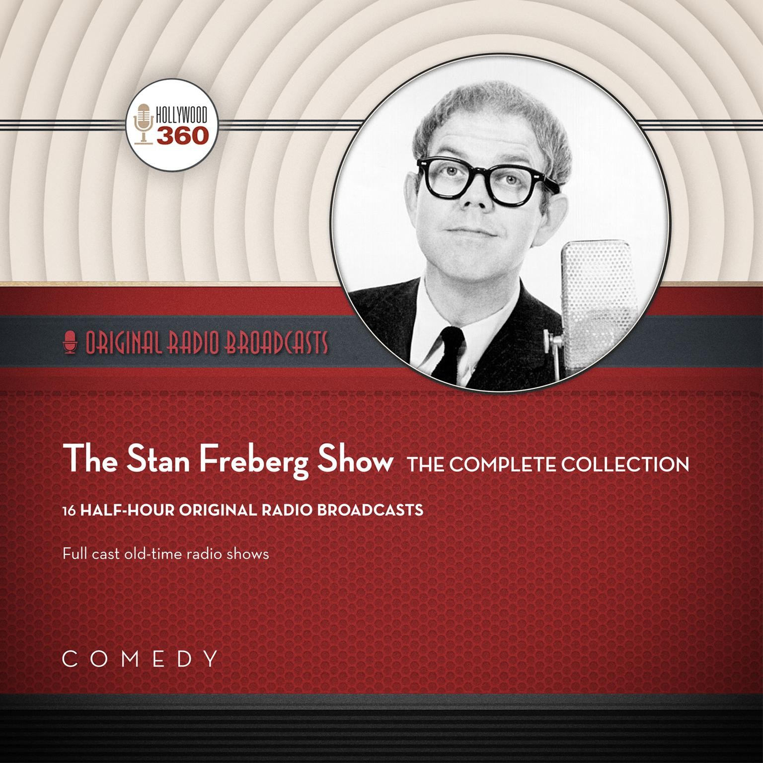 Printable The Stan Freberg Show: The Complete Collection Audiobook Cover Art