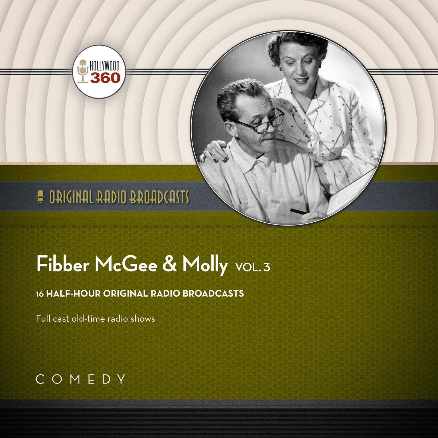 Printable Fibber McGee & Molly, Vol. 3 Audiobook Cover Art