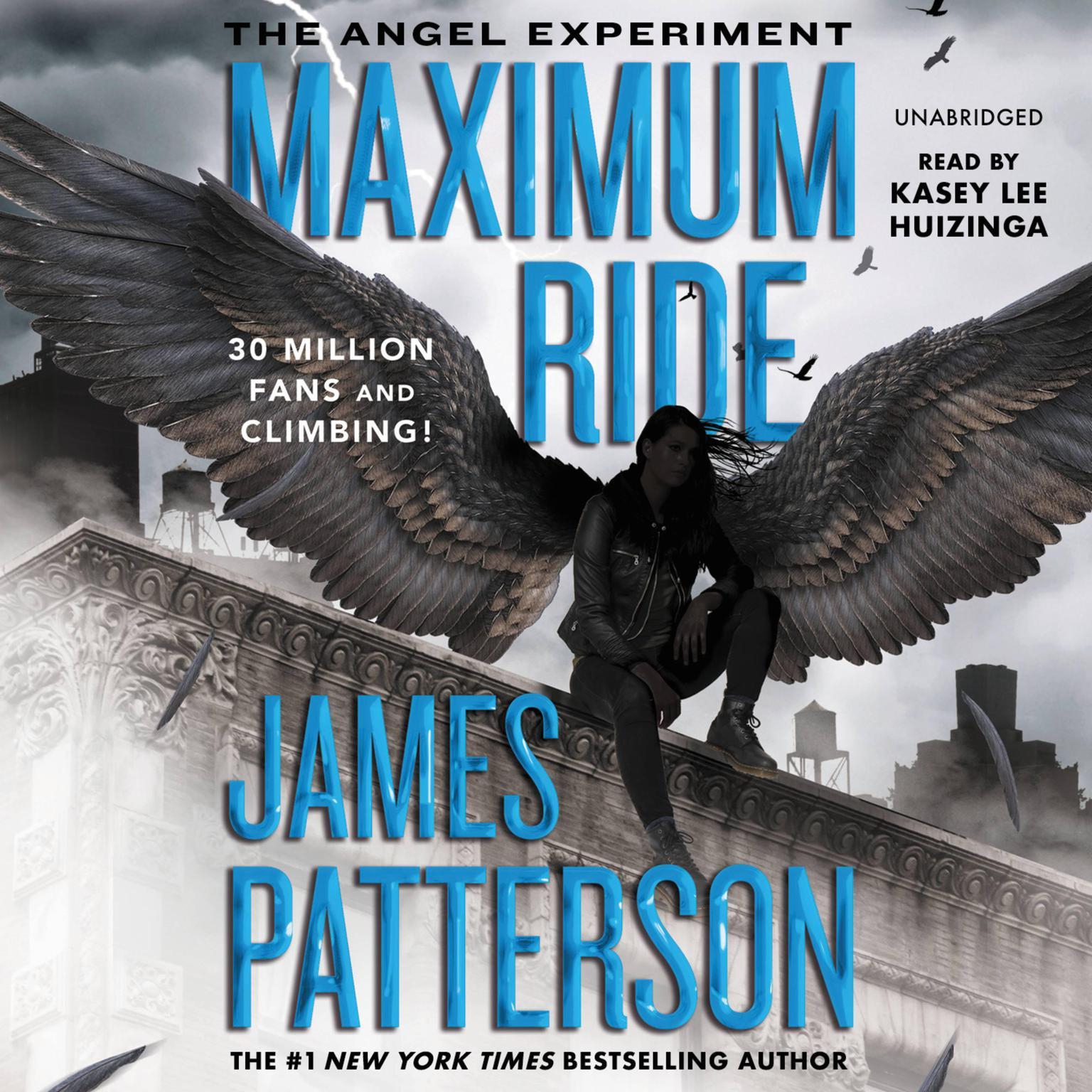 Printable The Angel Experiment: A Maximum Ride Novel Audiobook Cover Art