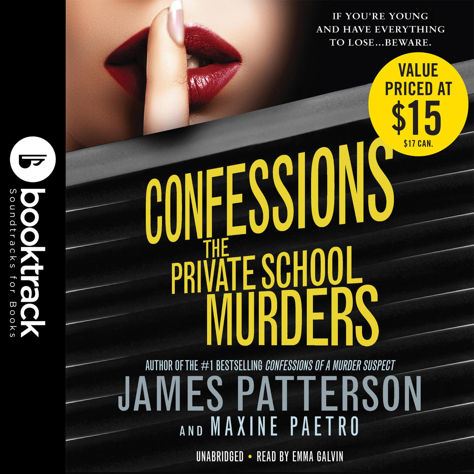 Printable Confessions: The Private School Murders: Booktrack Edition Audiobook Cover Art