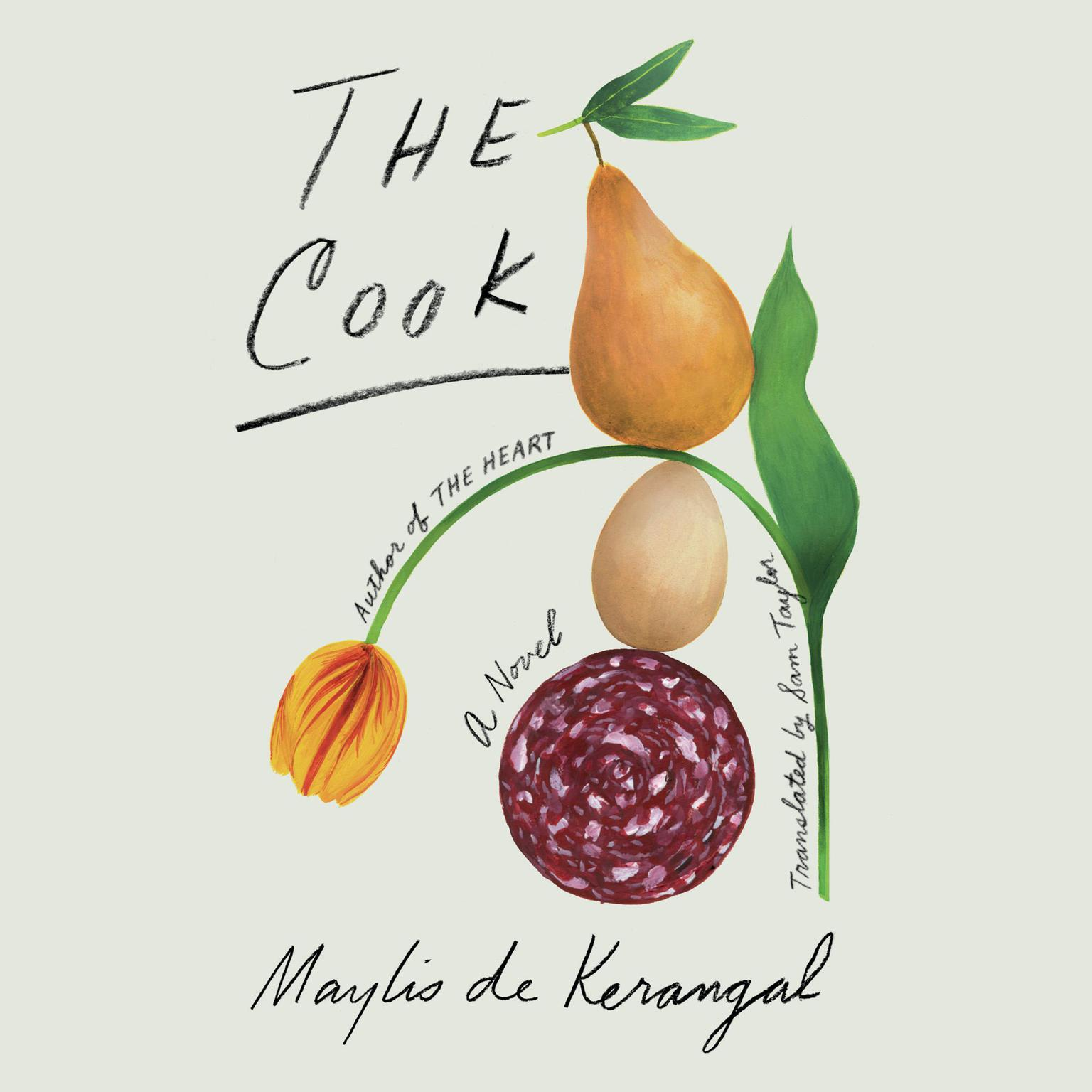 Printable The Cook: A Novel Audiobook Cover Art