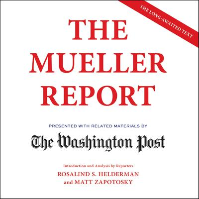 The Mueller Report Audiobook, by Robert Mueller