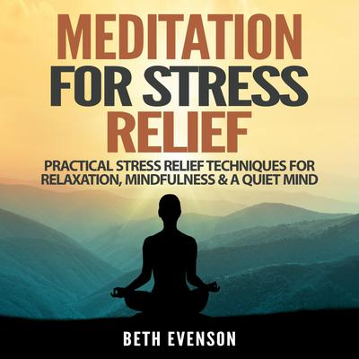 Meditation for Stress Relief: Practical Stress Relief Techniques for Relaxation, Mindfulness & a Quiet Mind Audiobook, by Beth Evenson