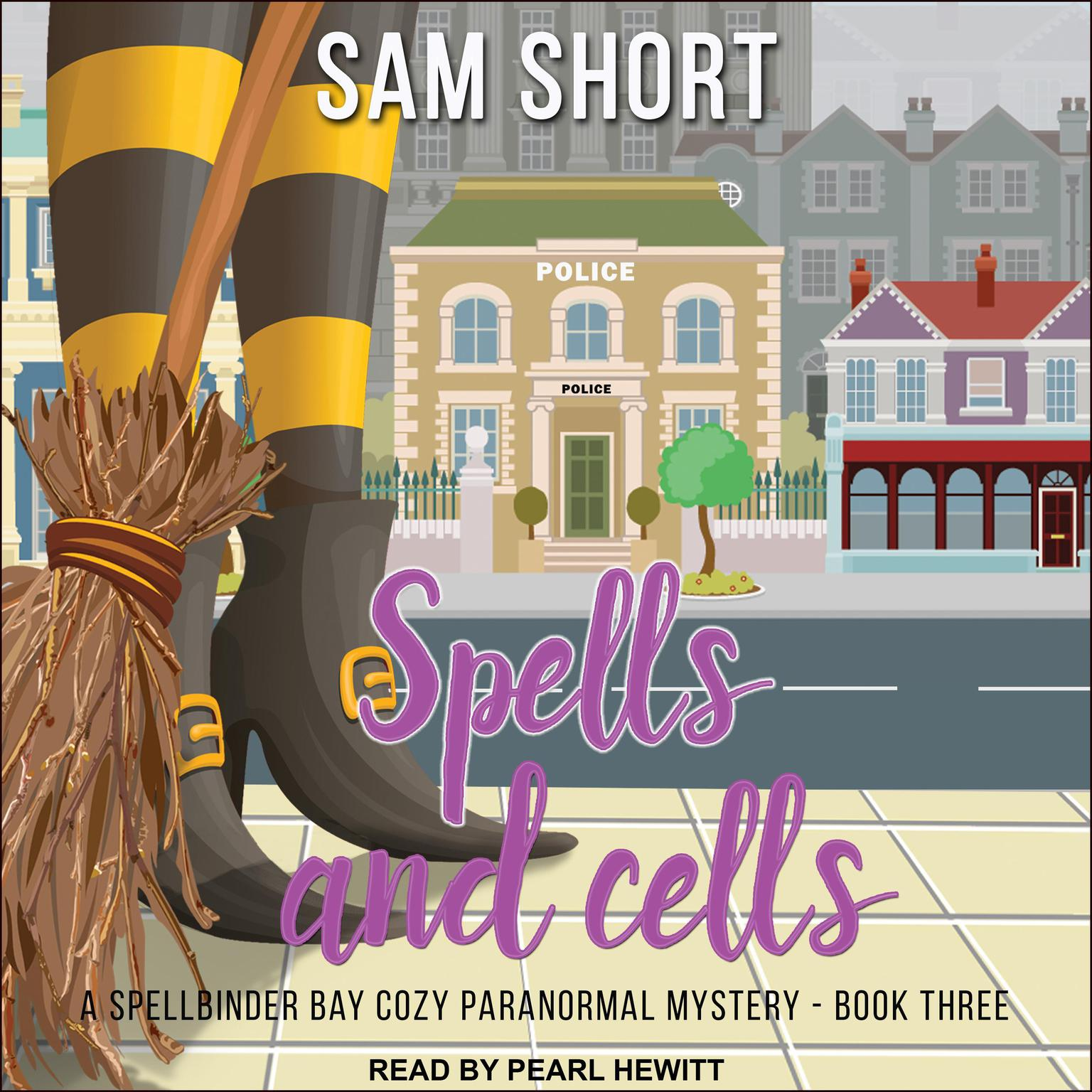 Printable Spells and Cells Audiobook Cover Art
