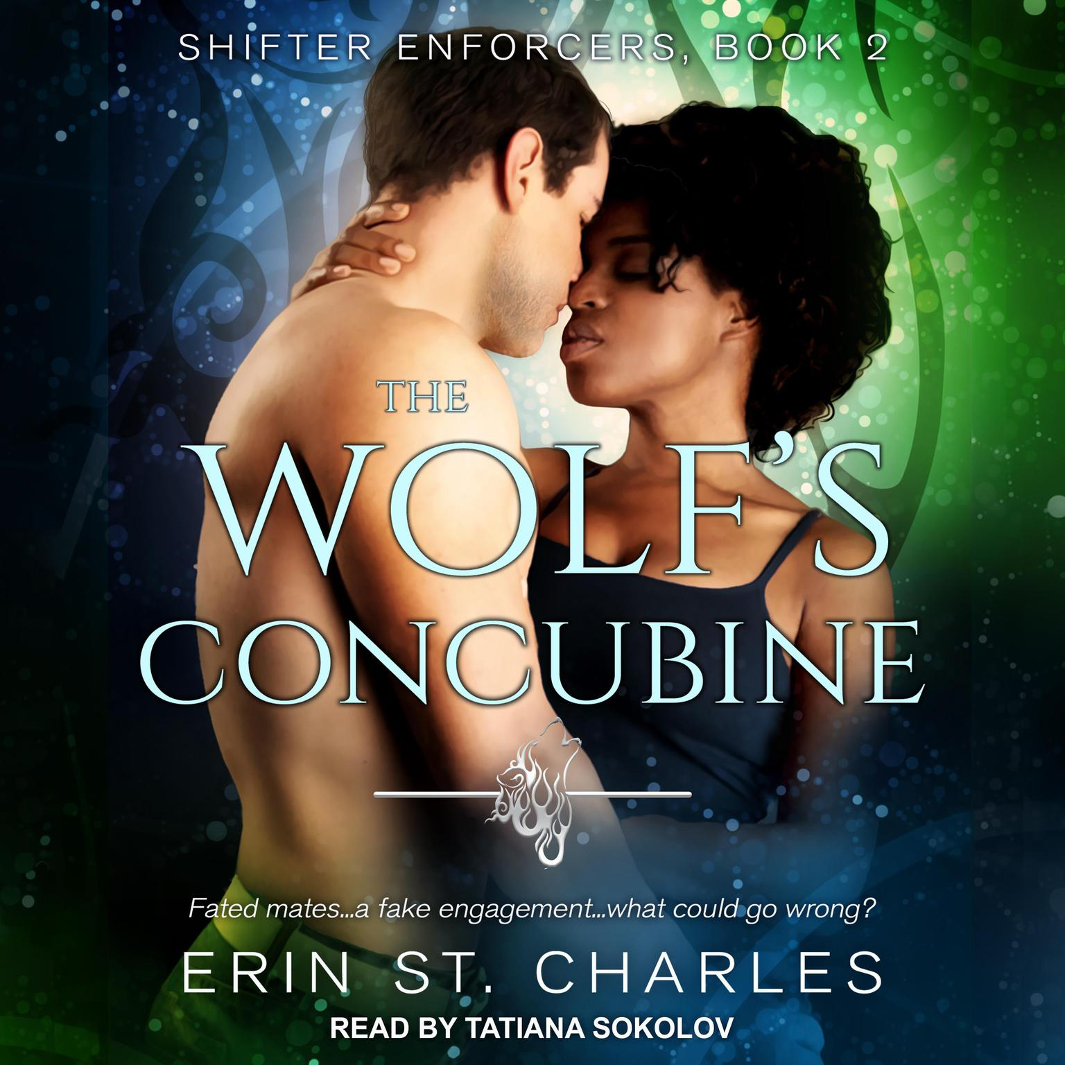Printable The Wolf's Concubine Audiobook Cover Art