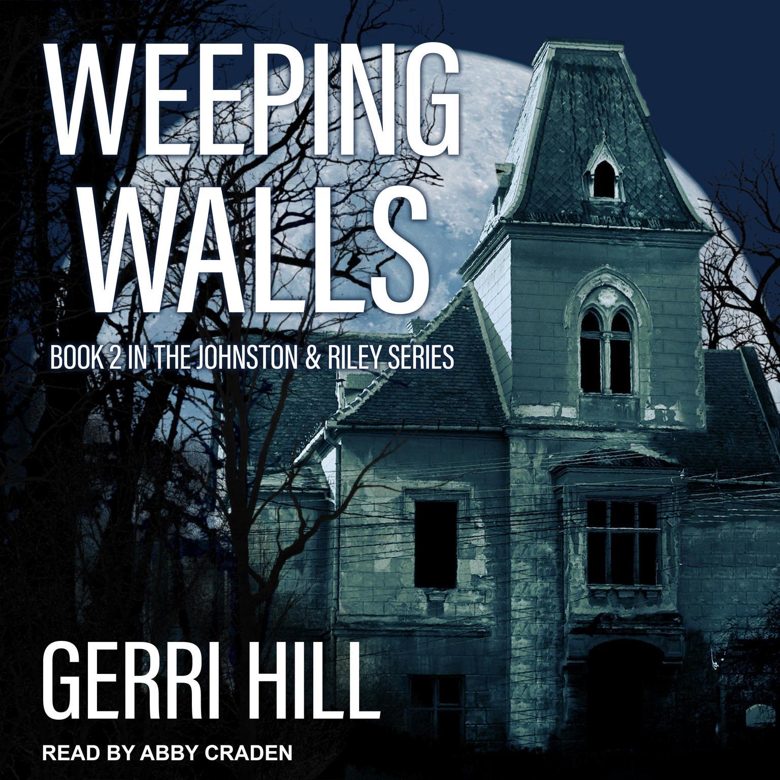 Printable Weeping Walls Audiobook Cover Art