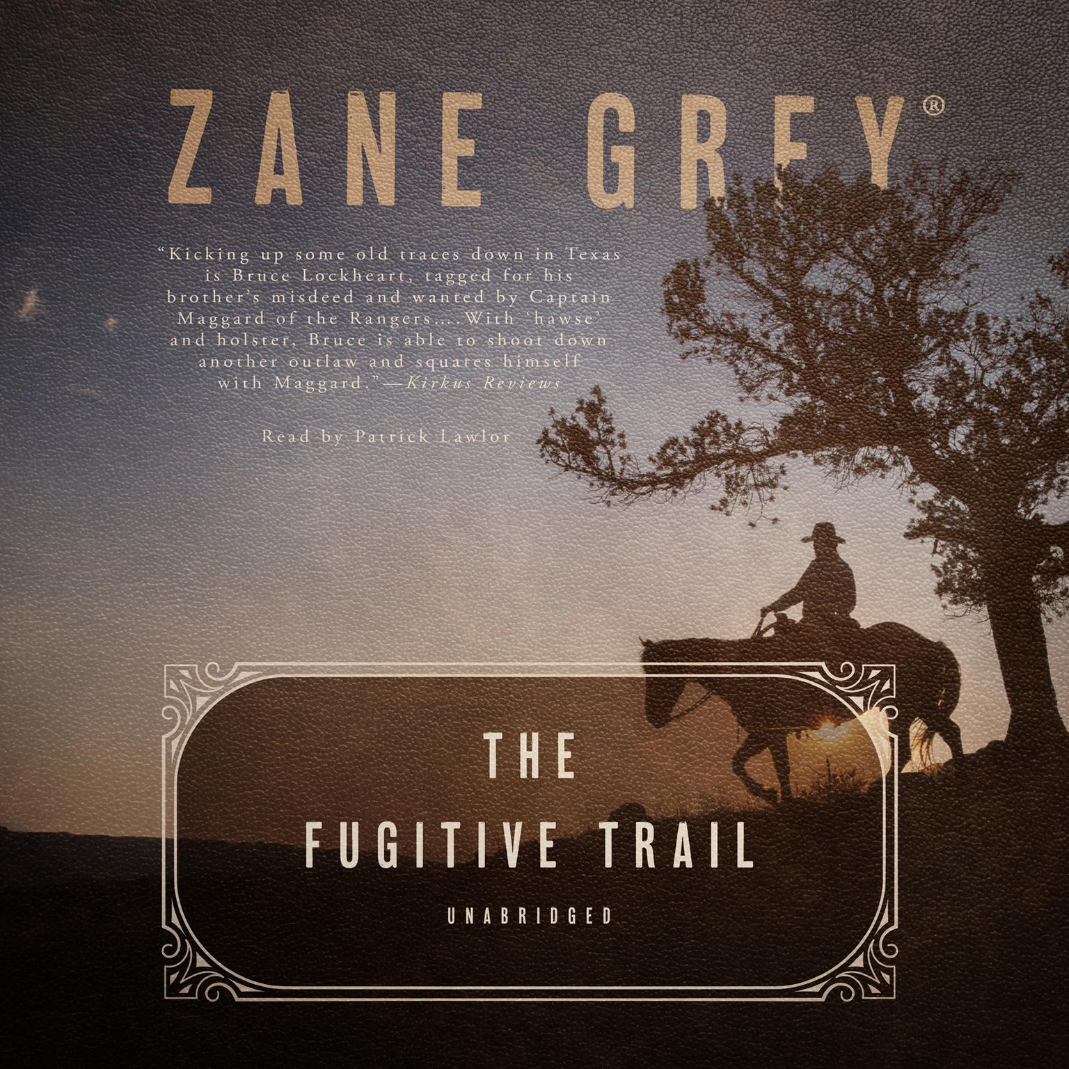 Printable The Fugitive Trail Audiobook Cover Art