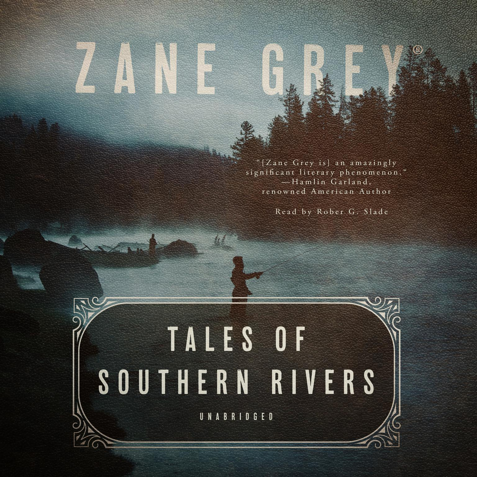 Printable Tales of Southern Rivers Audiobook Cover Art