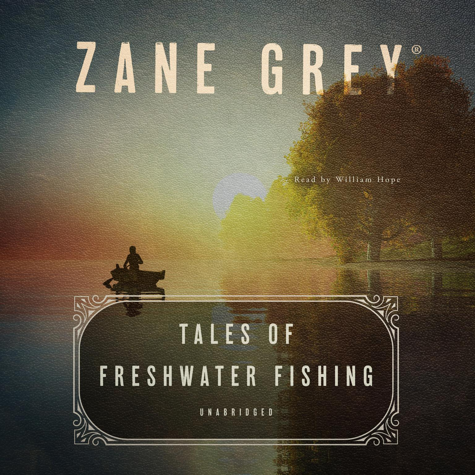 Printable Tales of Freshwater Fishing Audiobook Cover Art