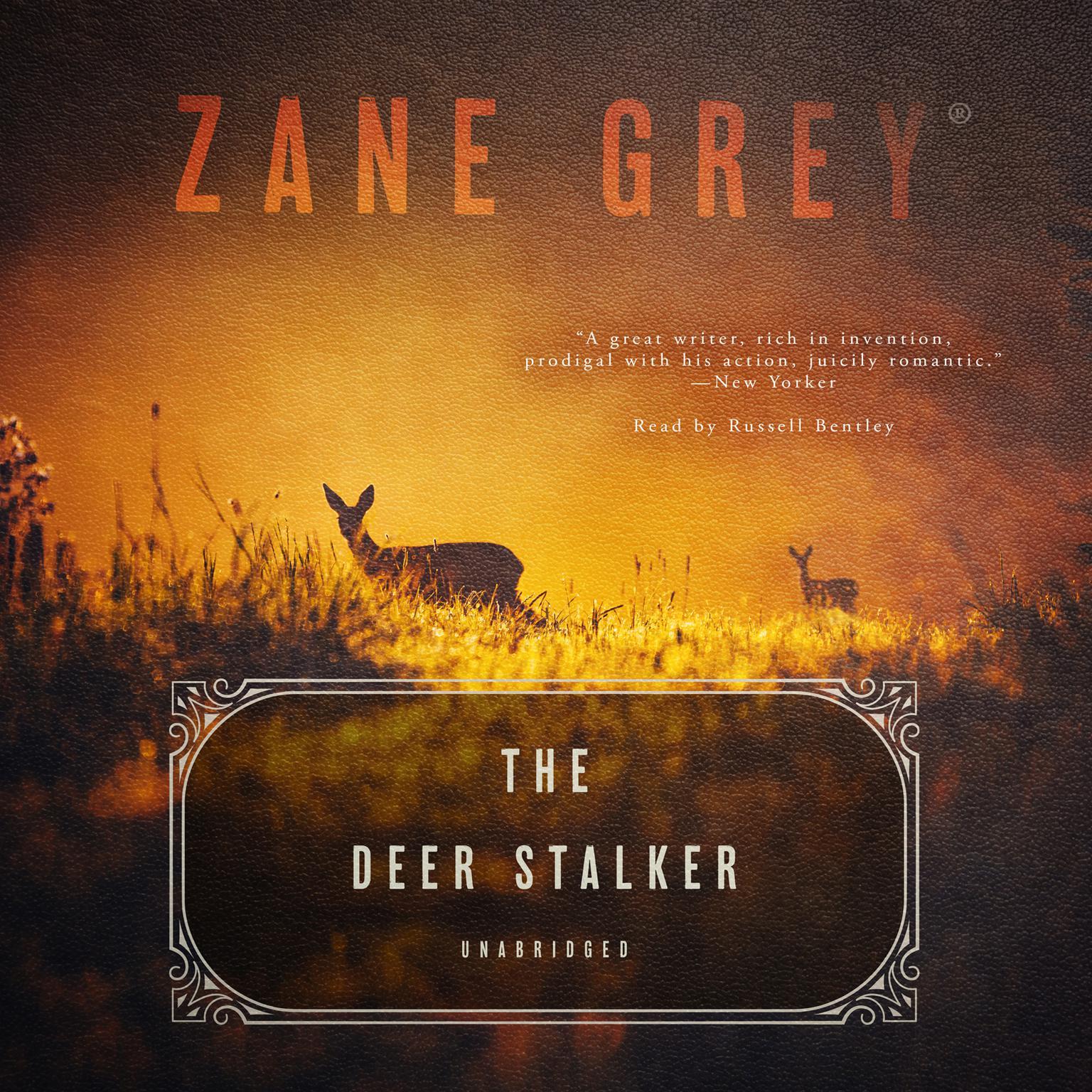 Printable The Deer Stalker Audiobook Cover Art