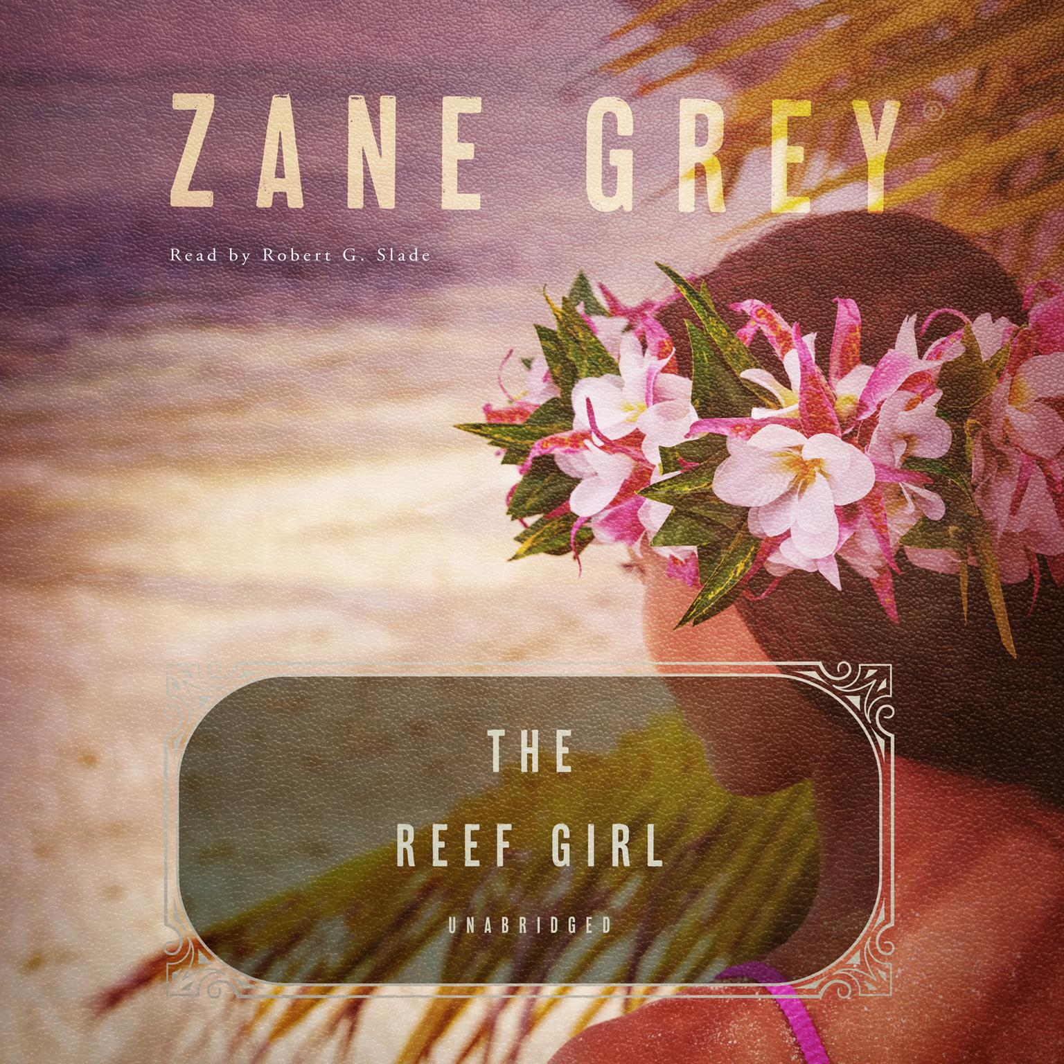 Printable The Reef Girl Audiobook Cover Art