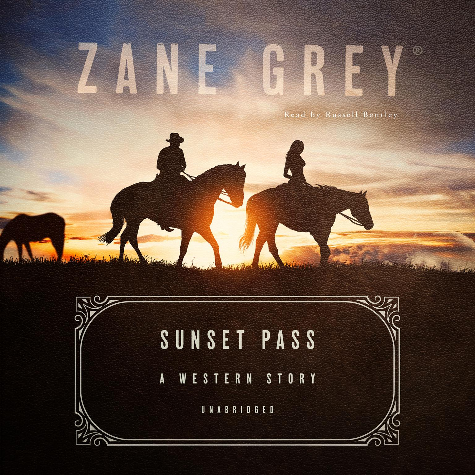 Printable Sunset Pass: A Western Story Audiobook Cover Art