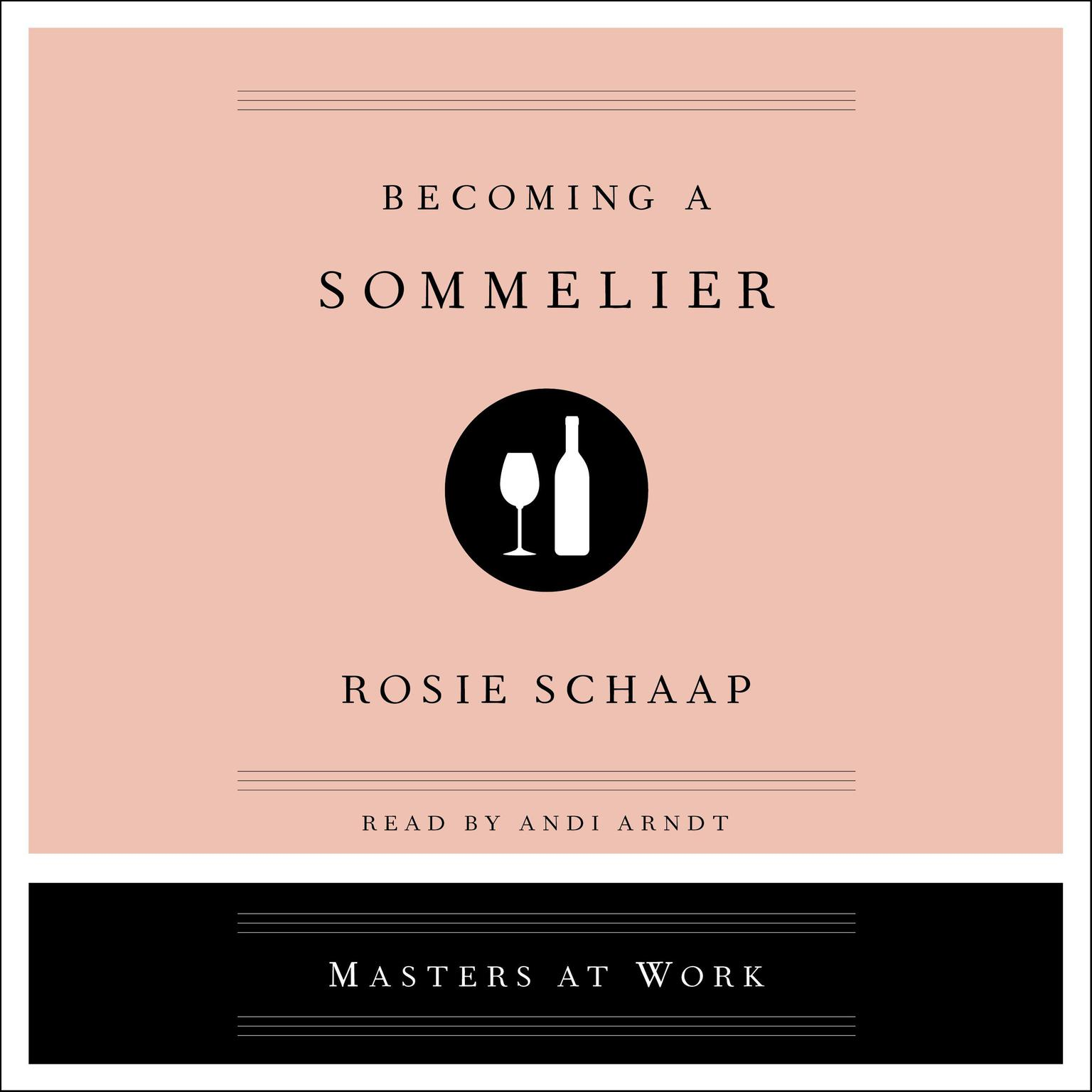 Printable Becoming a Sommelier Audiobook Cover Art