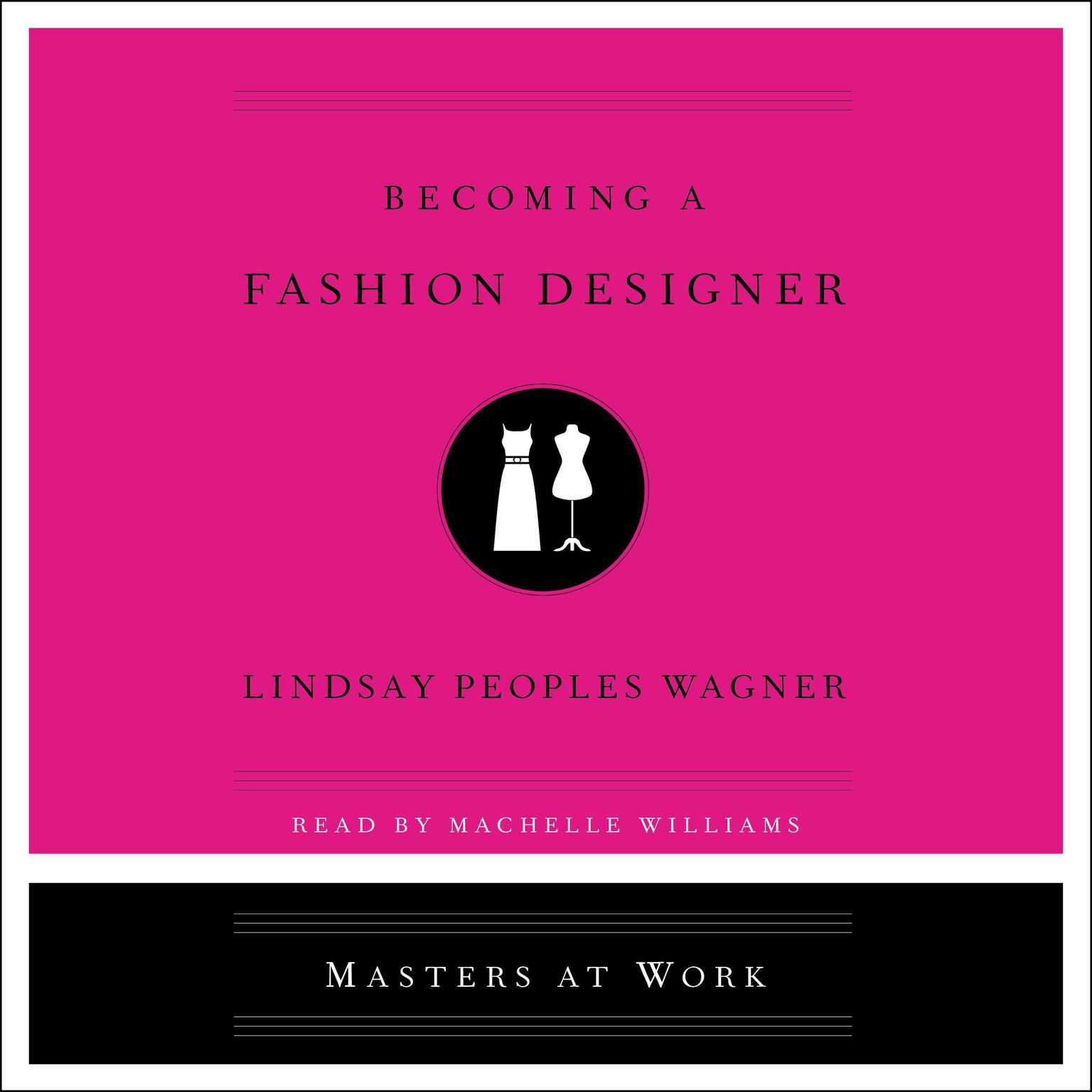 Printable Becoming a Fashion Designer Audiobook Cover Art