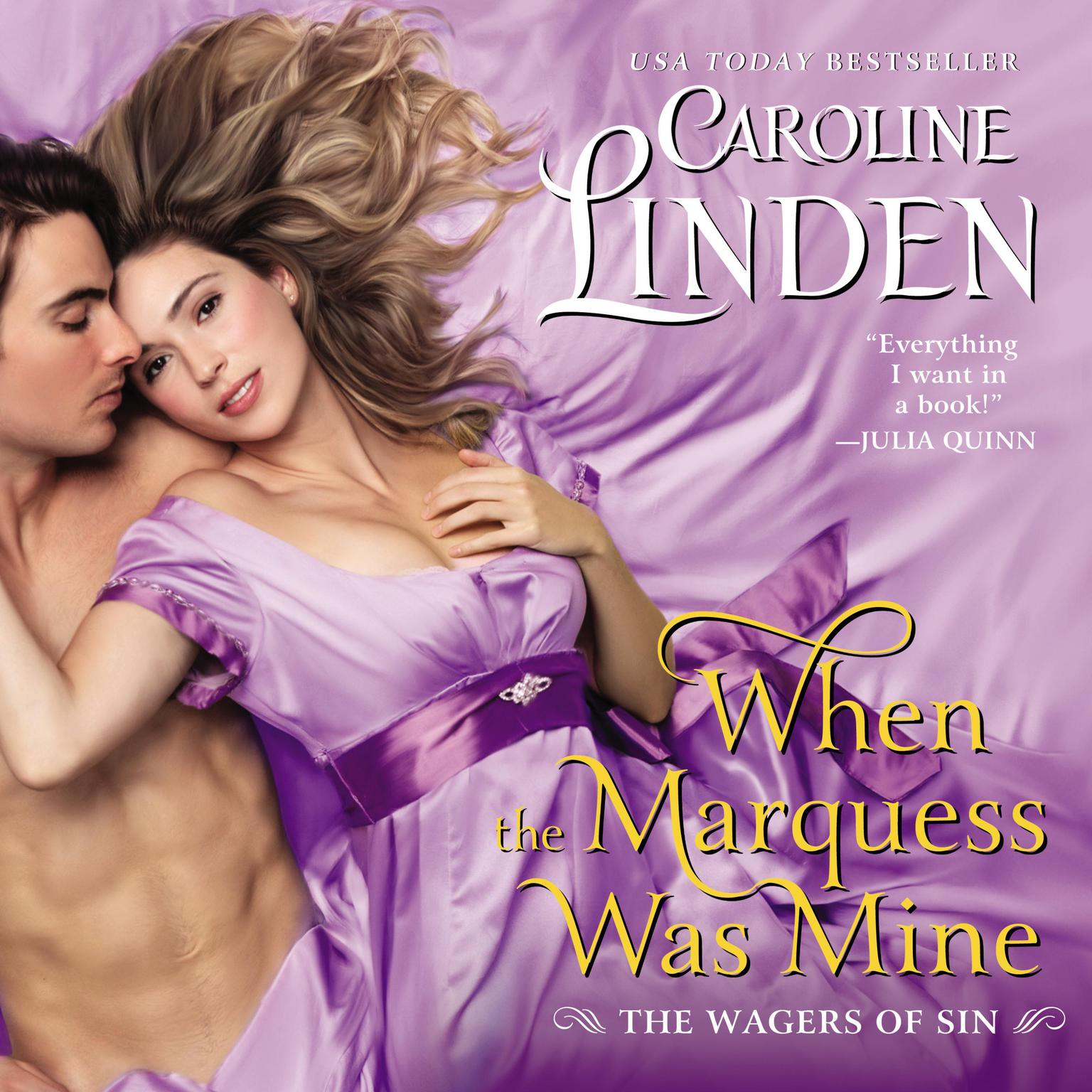 Printable When the Marquess Was Mine: The Wagers of Sin Audiobook Cover Art