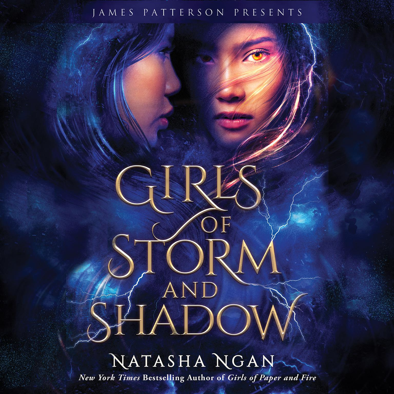 Printable Girls of Storm and Shadow Audiobook Cover Art