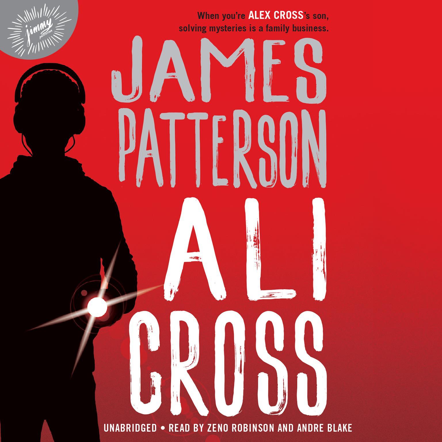 Printable Ali Cross Audiobook Cover Art