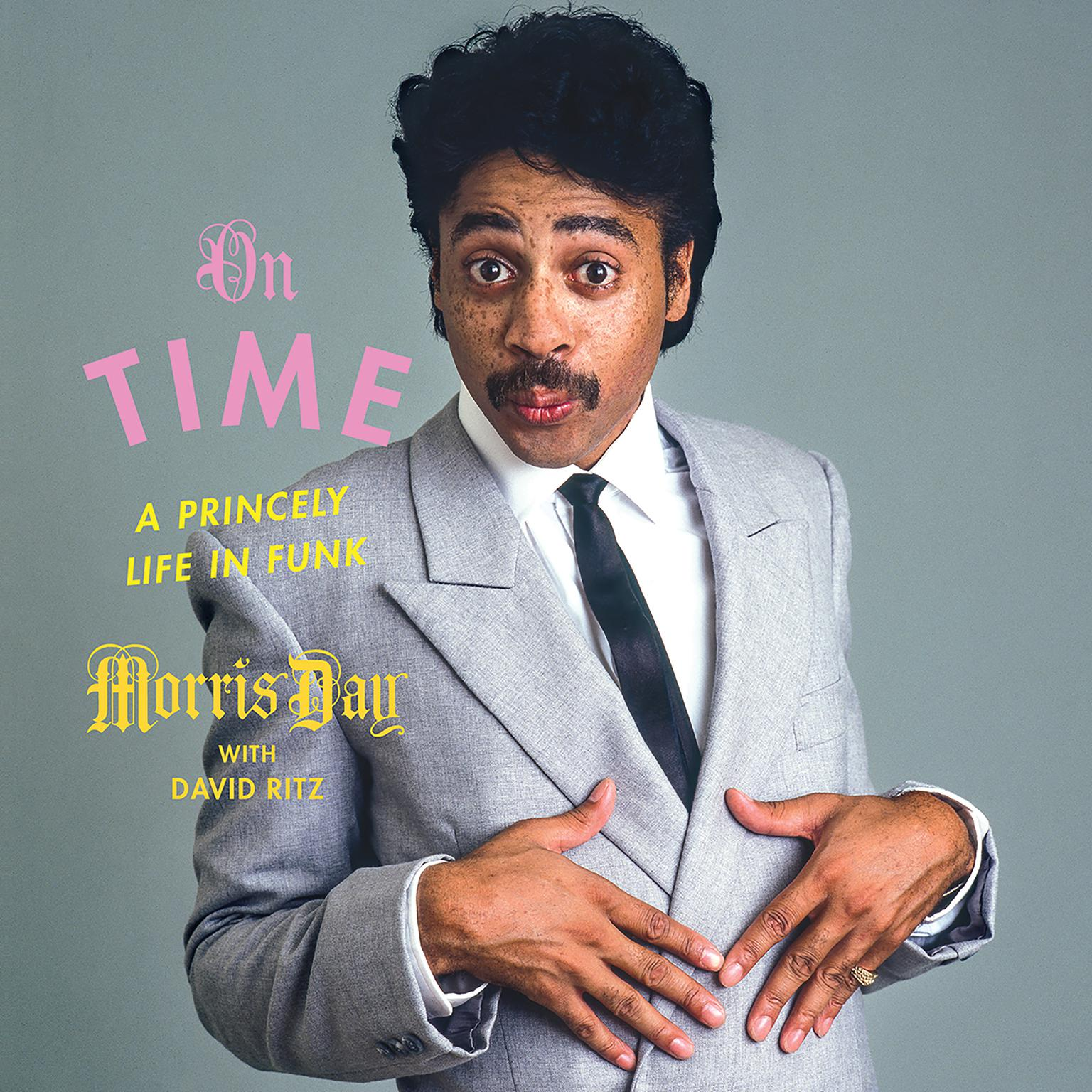 Printable On Time: A Princely Life in Funk Audiobook Cover Art