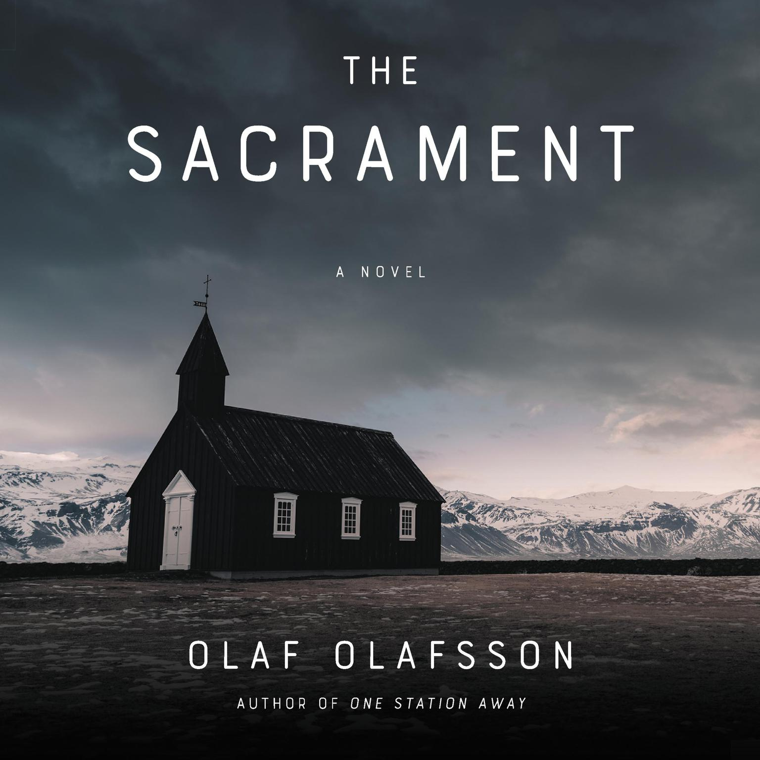 Printable The Sacrament: A Novel Audiobook Cover Art