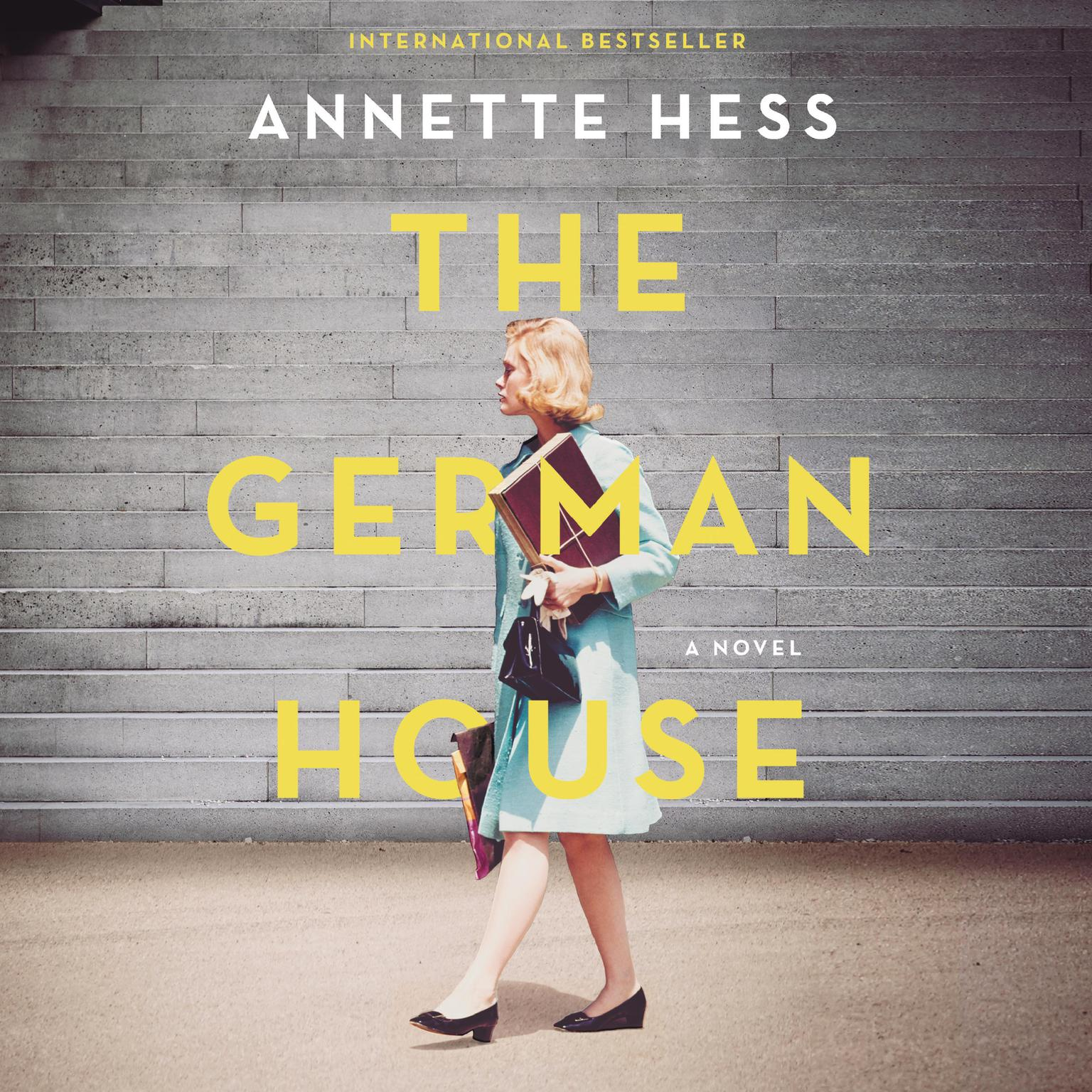 Printable The German House Audiobook Cover Art