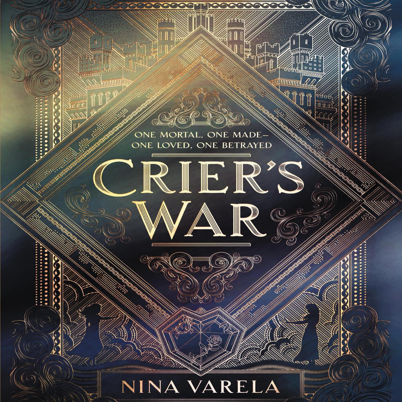 Printable Crier's War Audiobook Cover Art