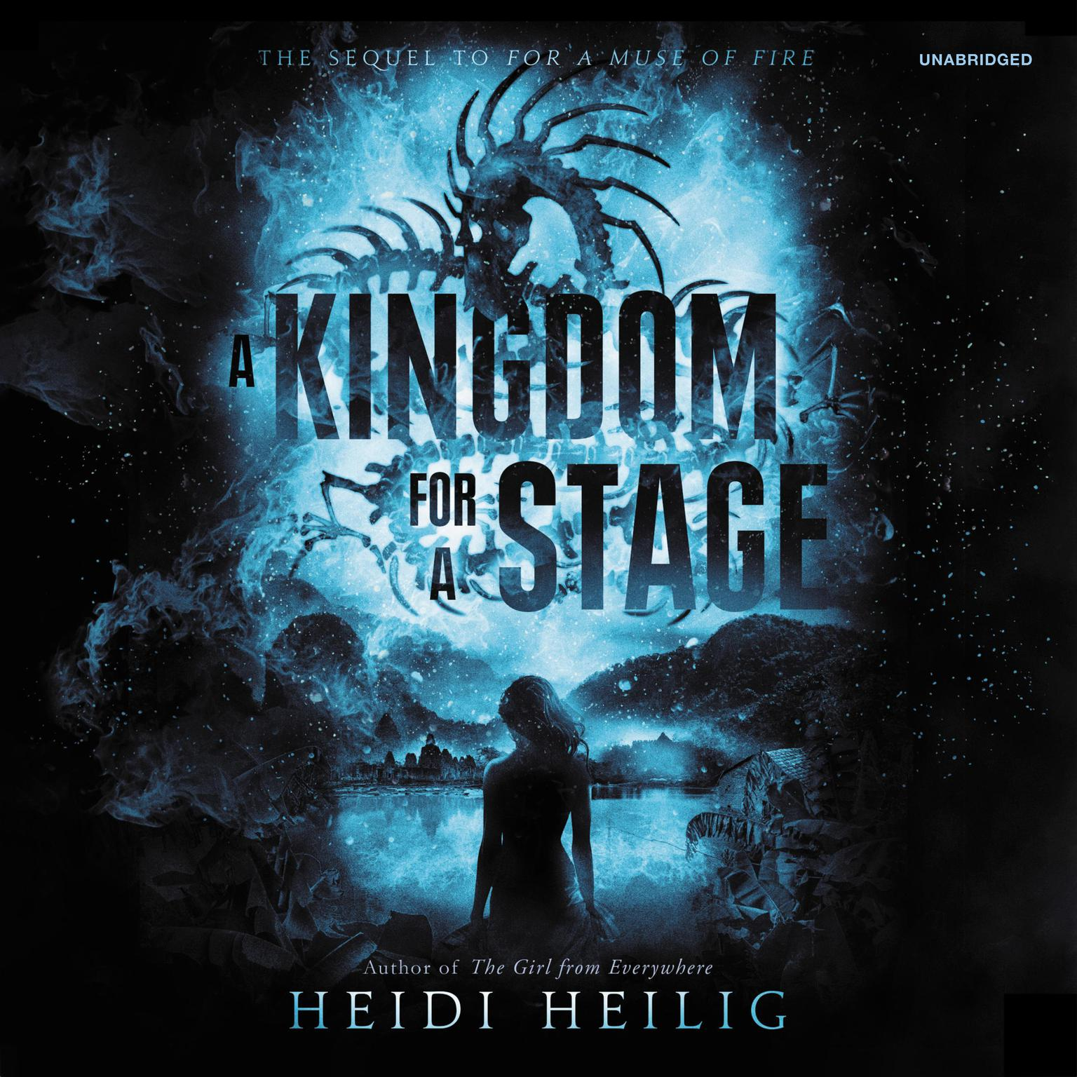 Printable A Kingdom for a Stage Audiobook Cover Art