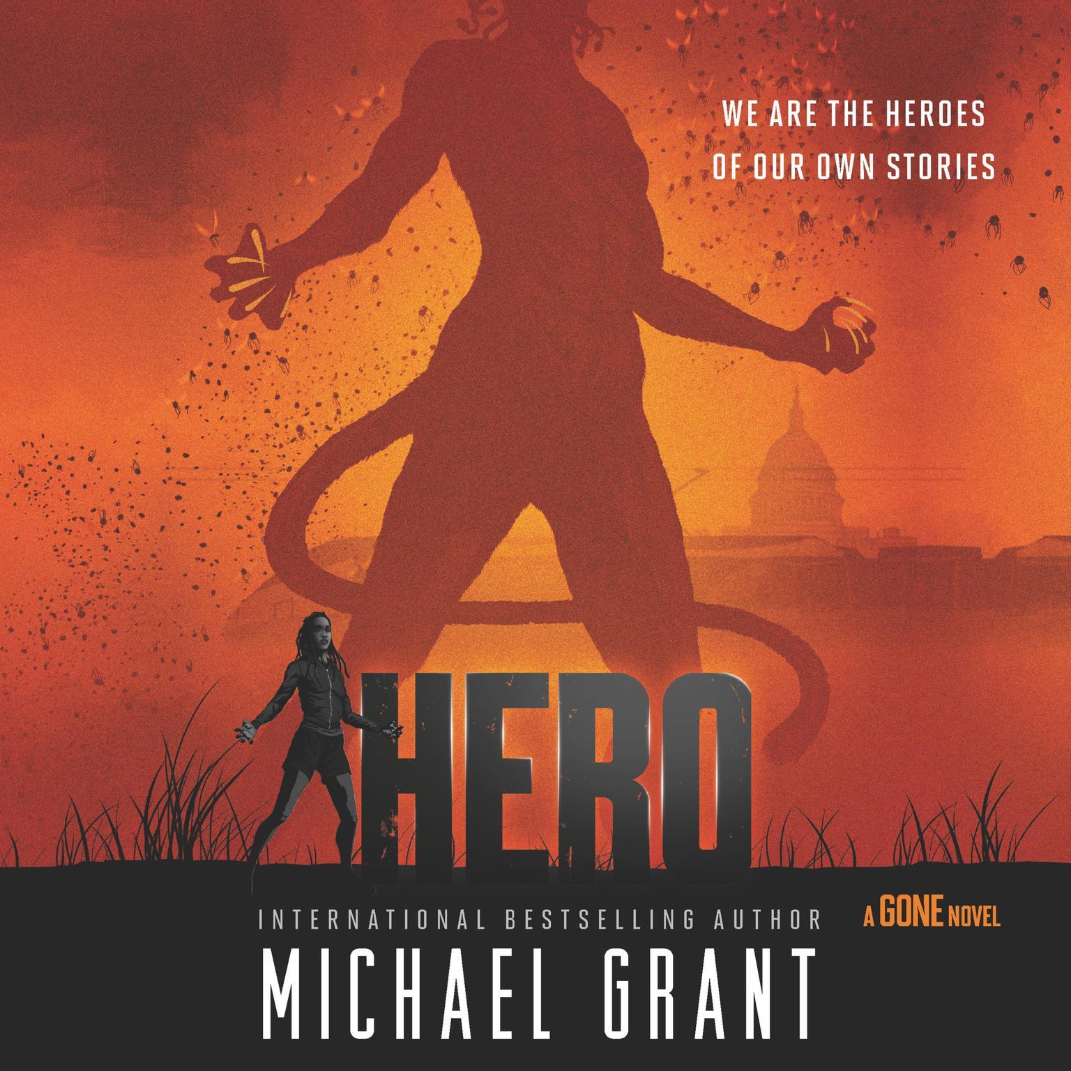 Printable Hero Audiobook Cover Art