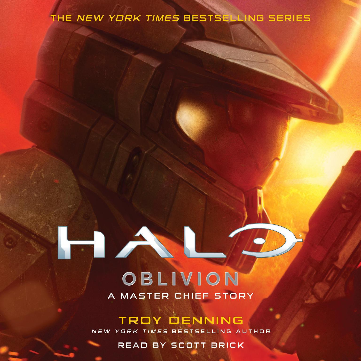 Printable HALO: Oblivion: A Master Chief Story Audiobook Cover Art
