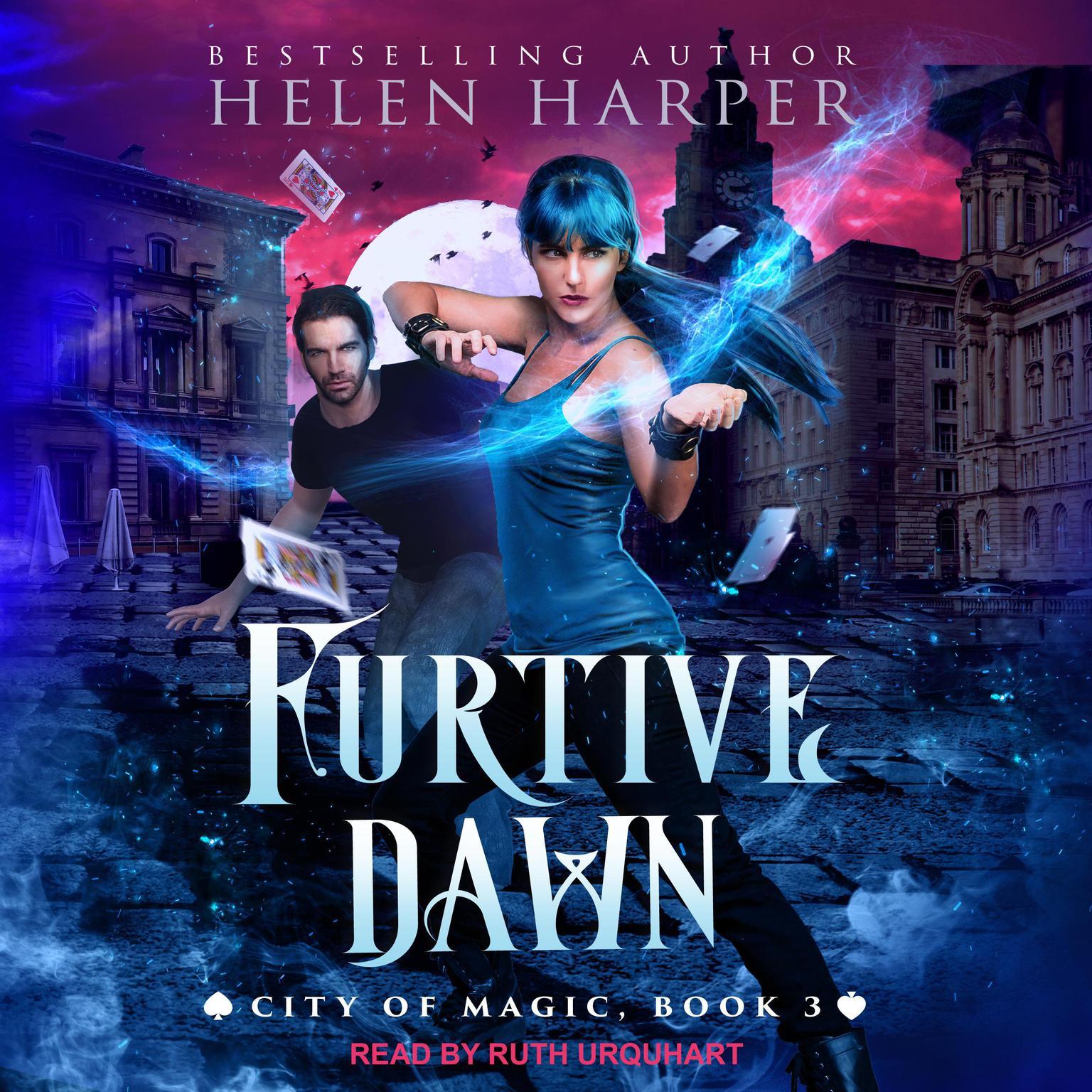Printable Furtive Dawn Audiobook Cover Art