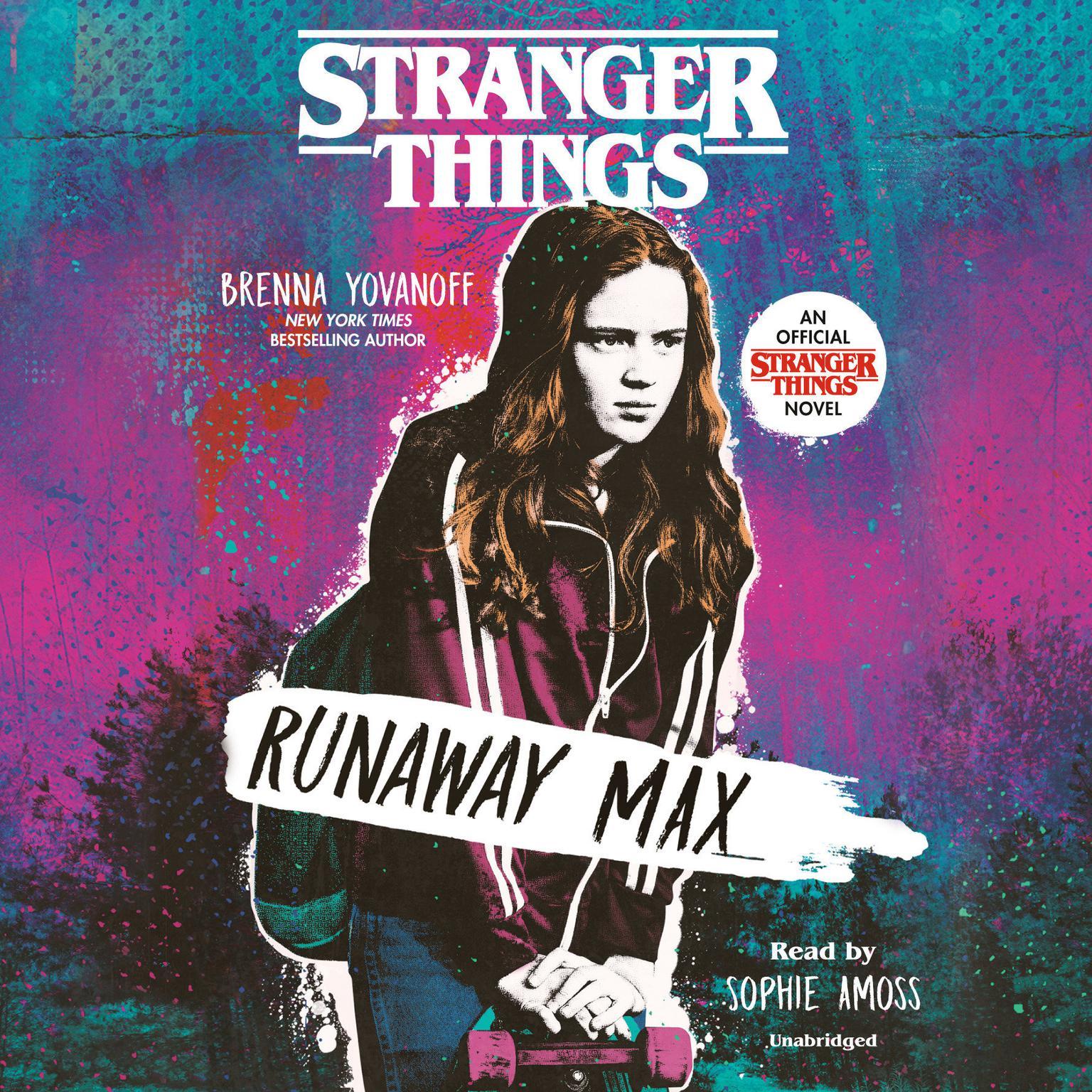 Printable Stranger Things: Runaway Max Audiobook Cover Art