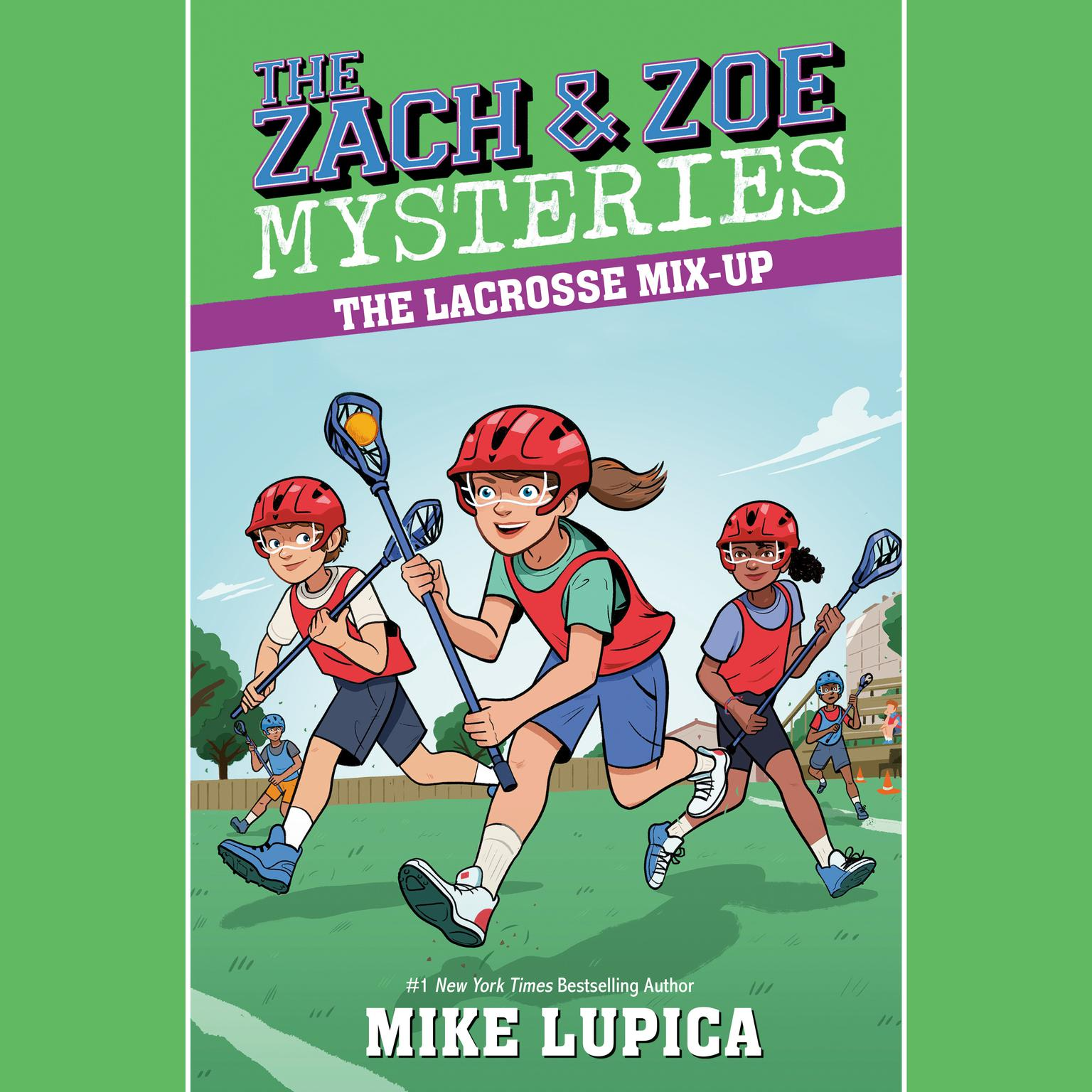 Printable The Lacrosse Mix-Up Audiobook Cover Art