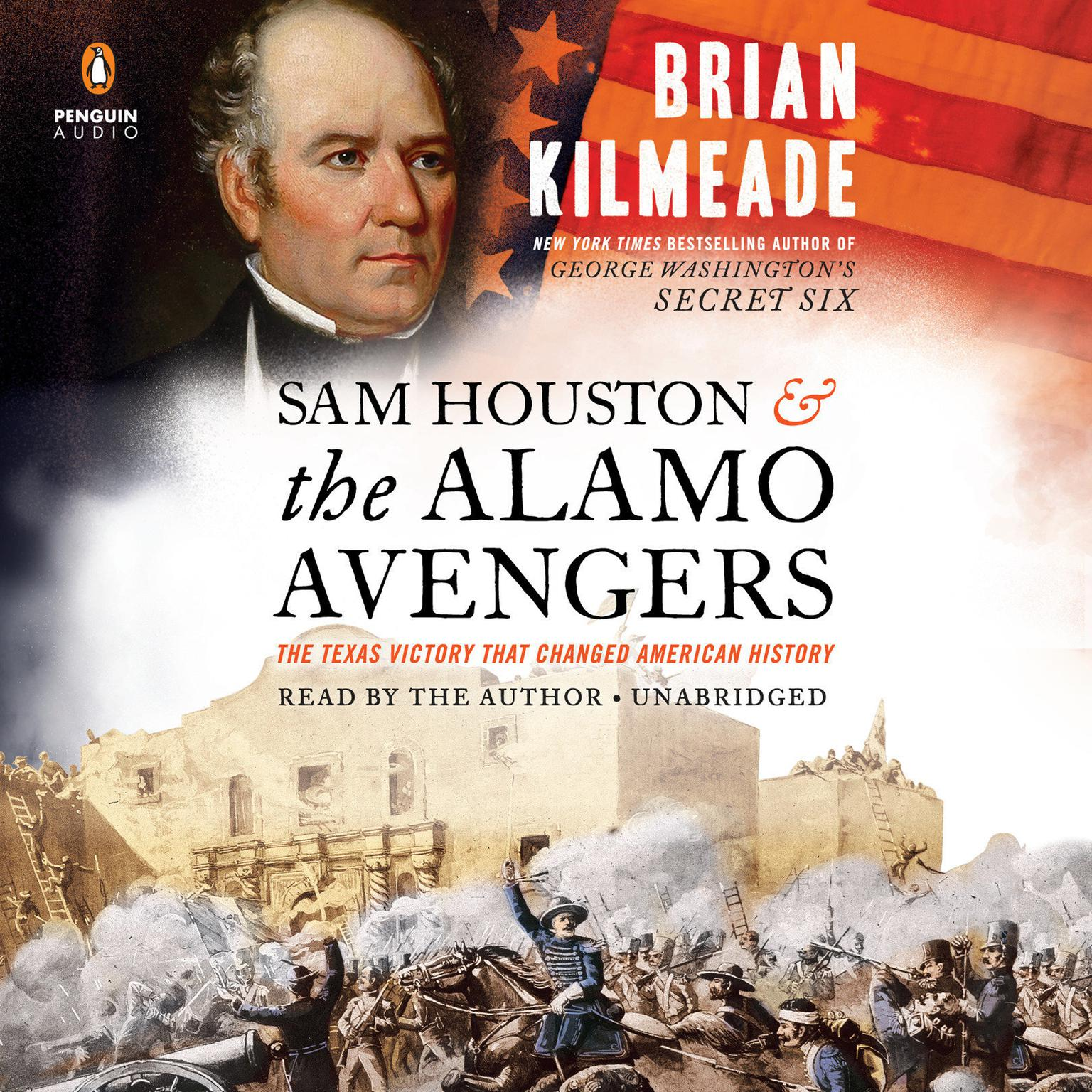 Printable Sam Houston and the Alamo Avengers: The Texas Victory That Changed American History Audiobook Cover Art