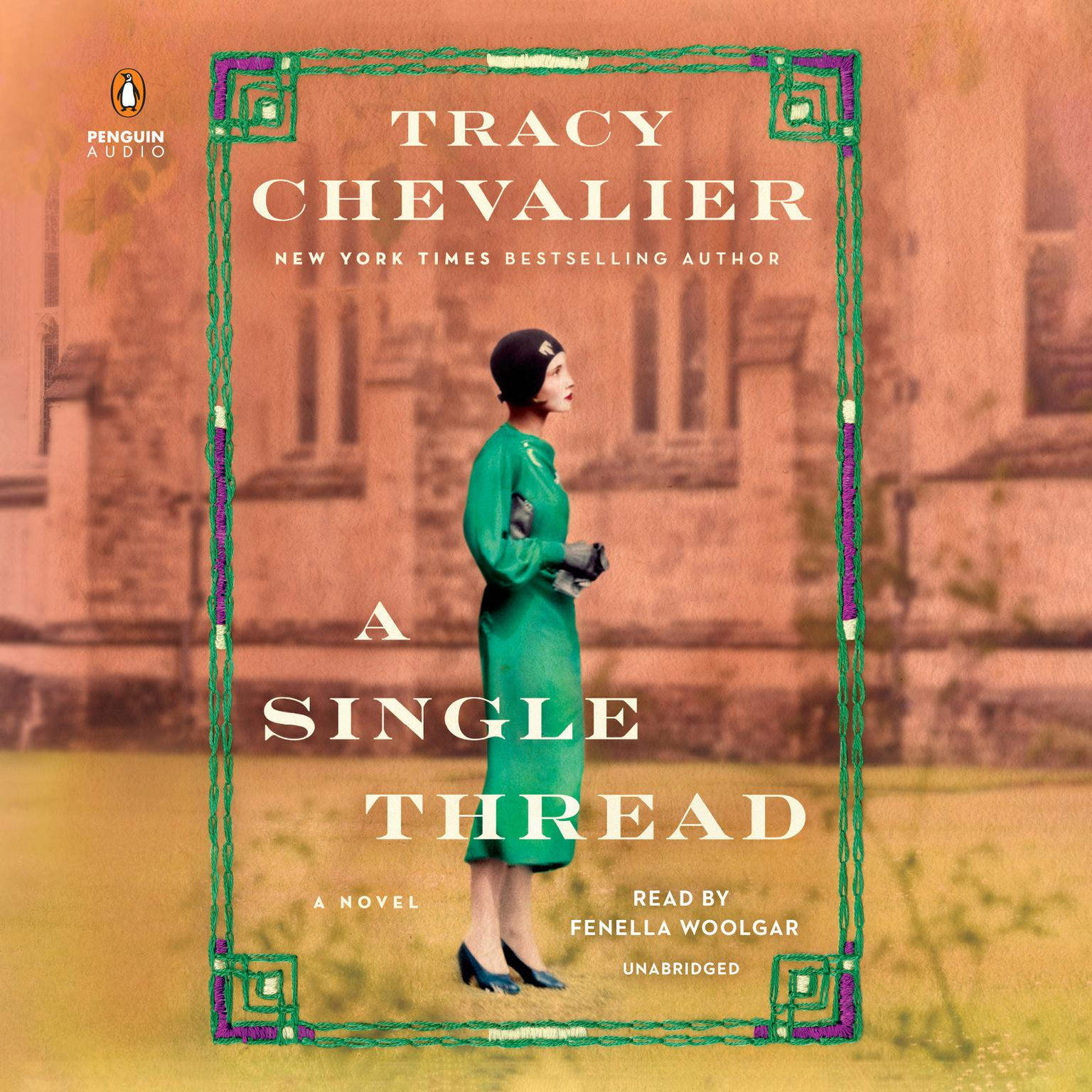 Printable A Single Thread: A Novel Audiobook Cover Art