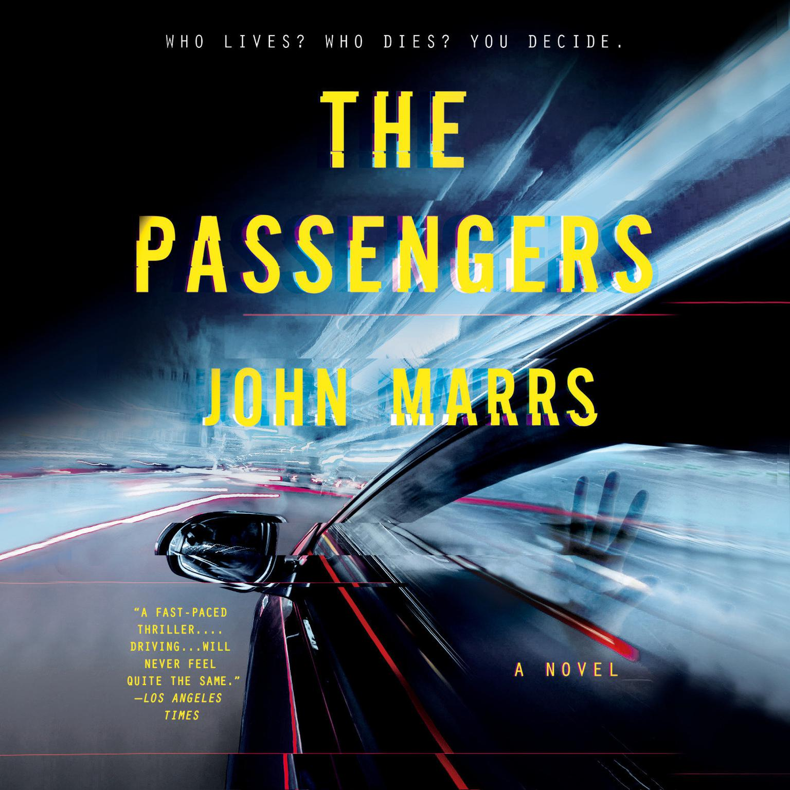 Printable The Passengers Audiobook Cover Art