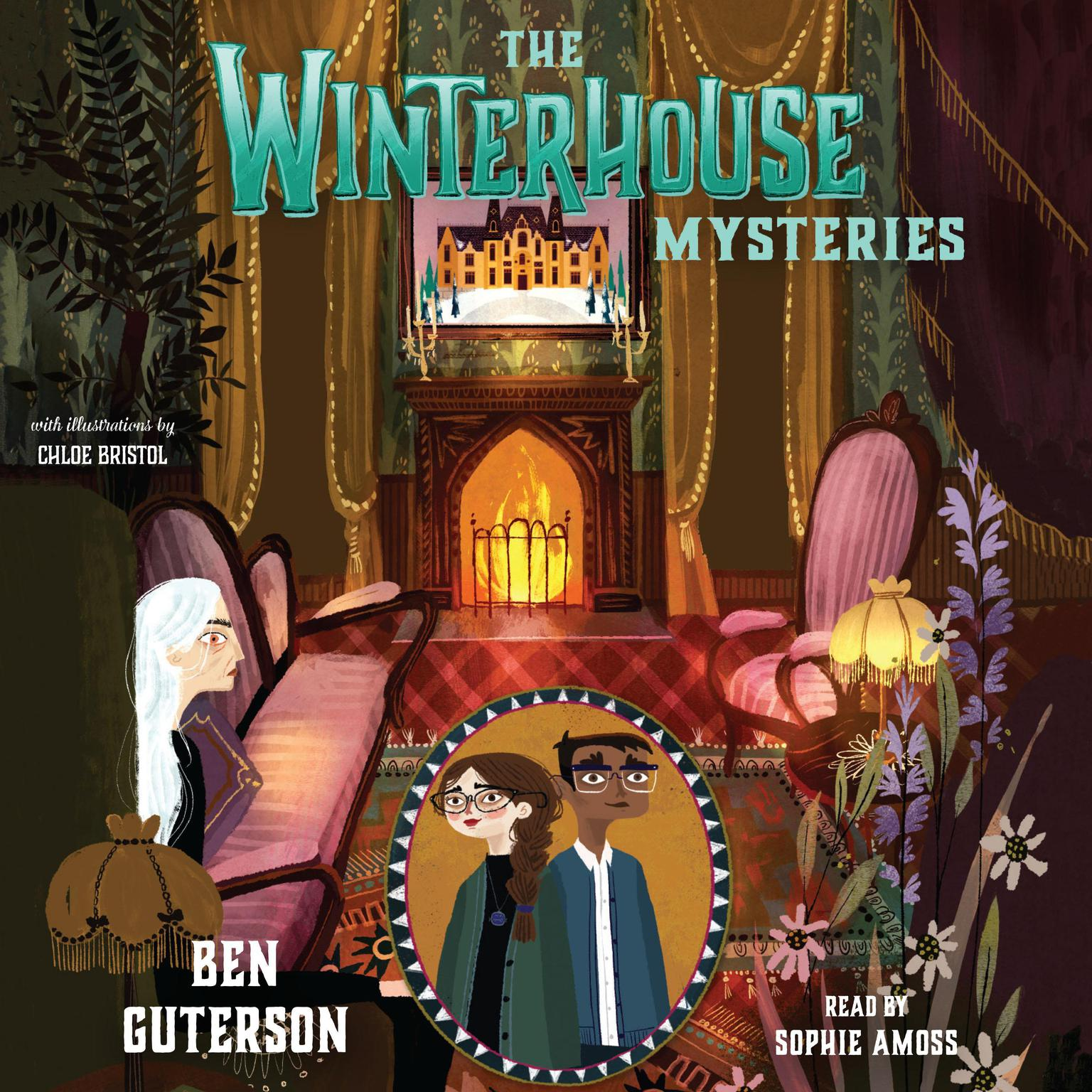 Printable The Winterhouse Mysteries Audiobook Cover Art
