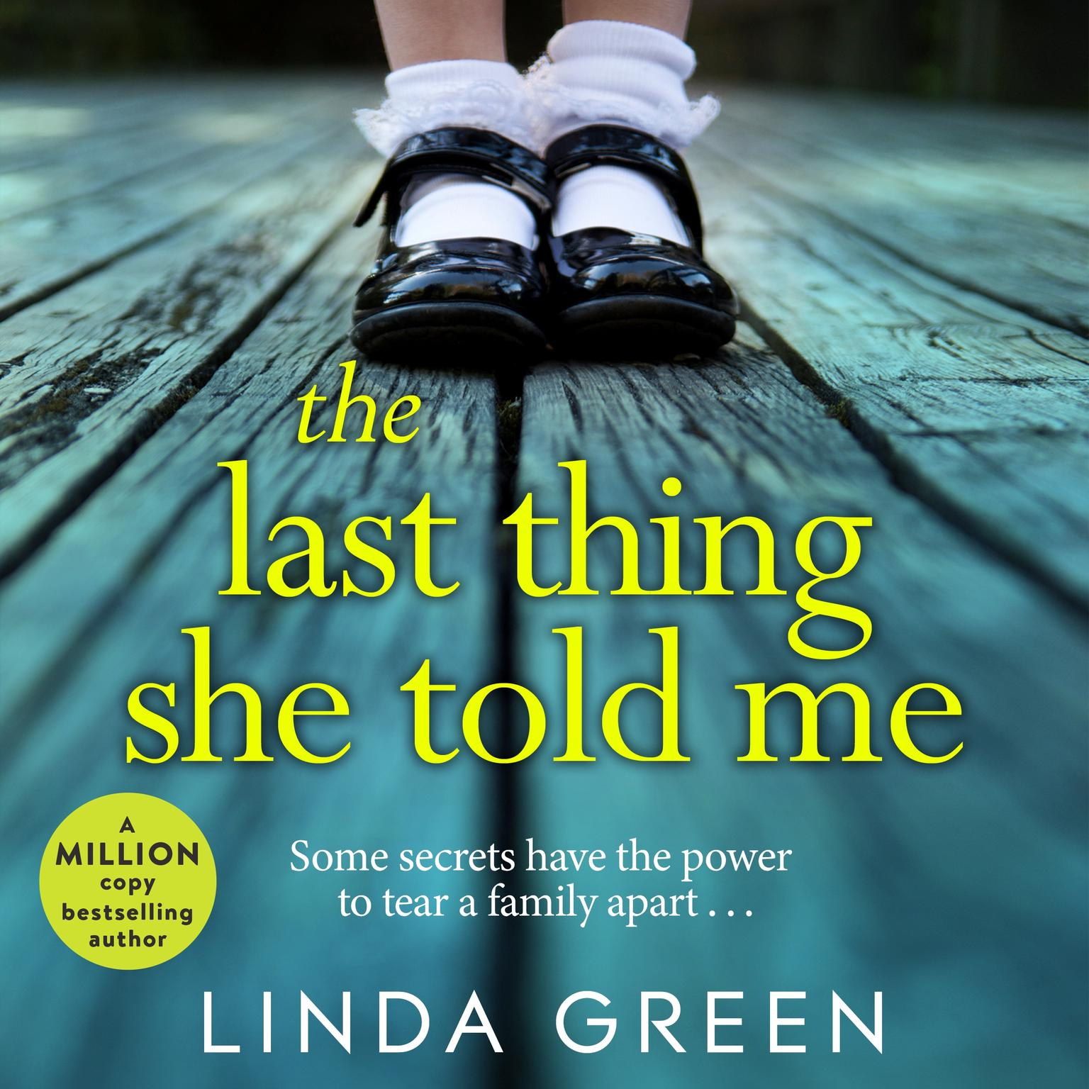 Printable The Last Thing She Told Me Audiobook Cover Art