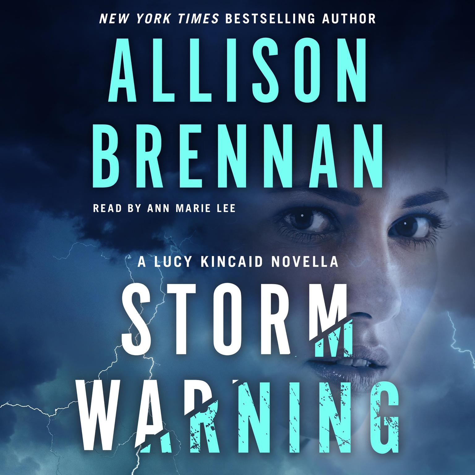Printable Storm Warning: A Lucy Kincaid Novella Audiobook Cover Art