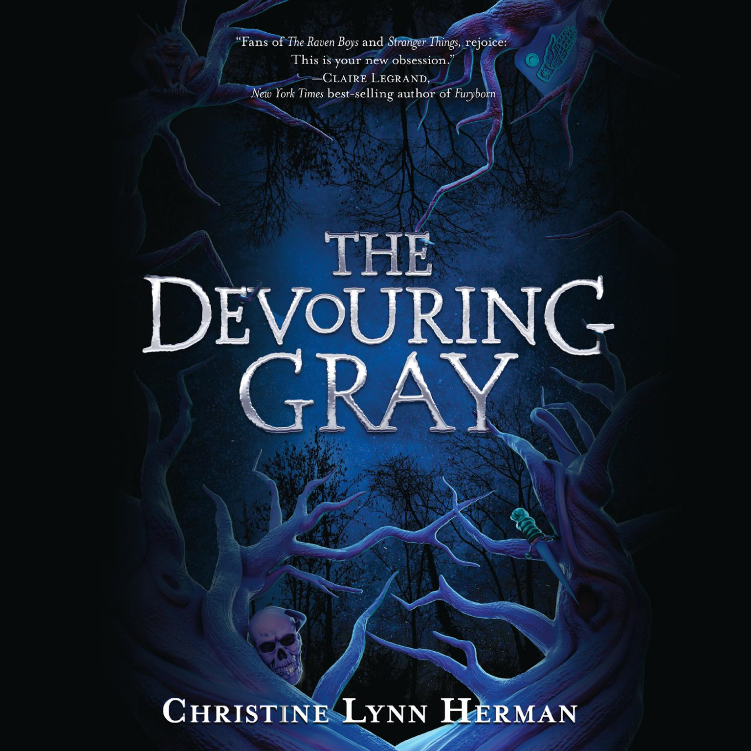 Printable The Devouring Gray Audiobook Cover Art