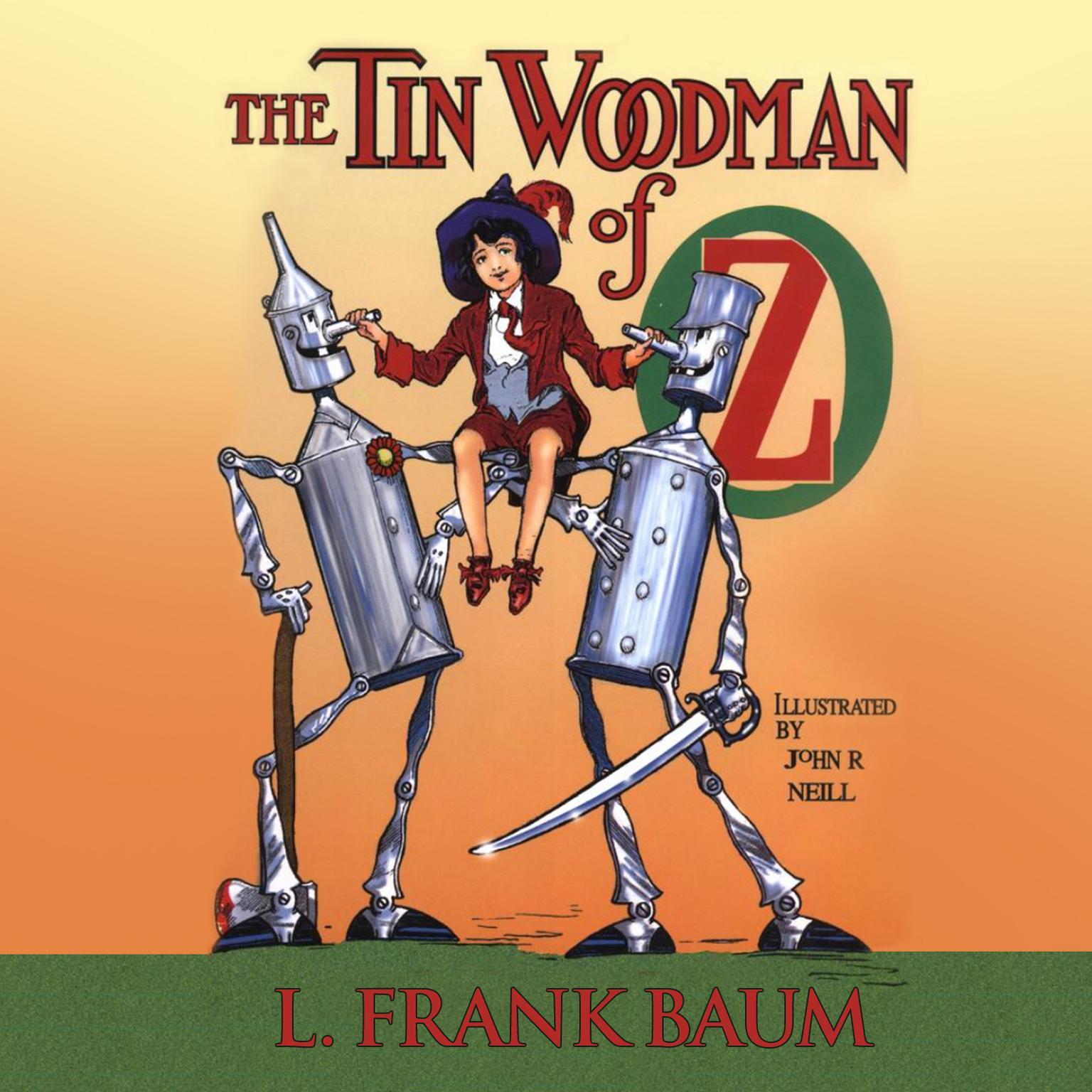 Printable The Tin Woodman of Oz Audiobook Cover Art