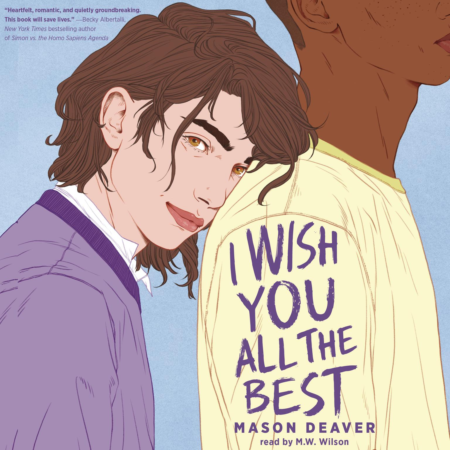 Printable I Wish You All the Best Audiobook Cover Art