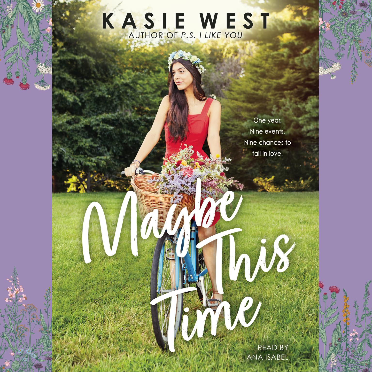 Printable Maybe This Time Audiobook Cover Art