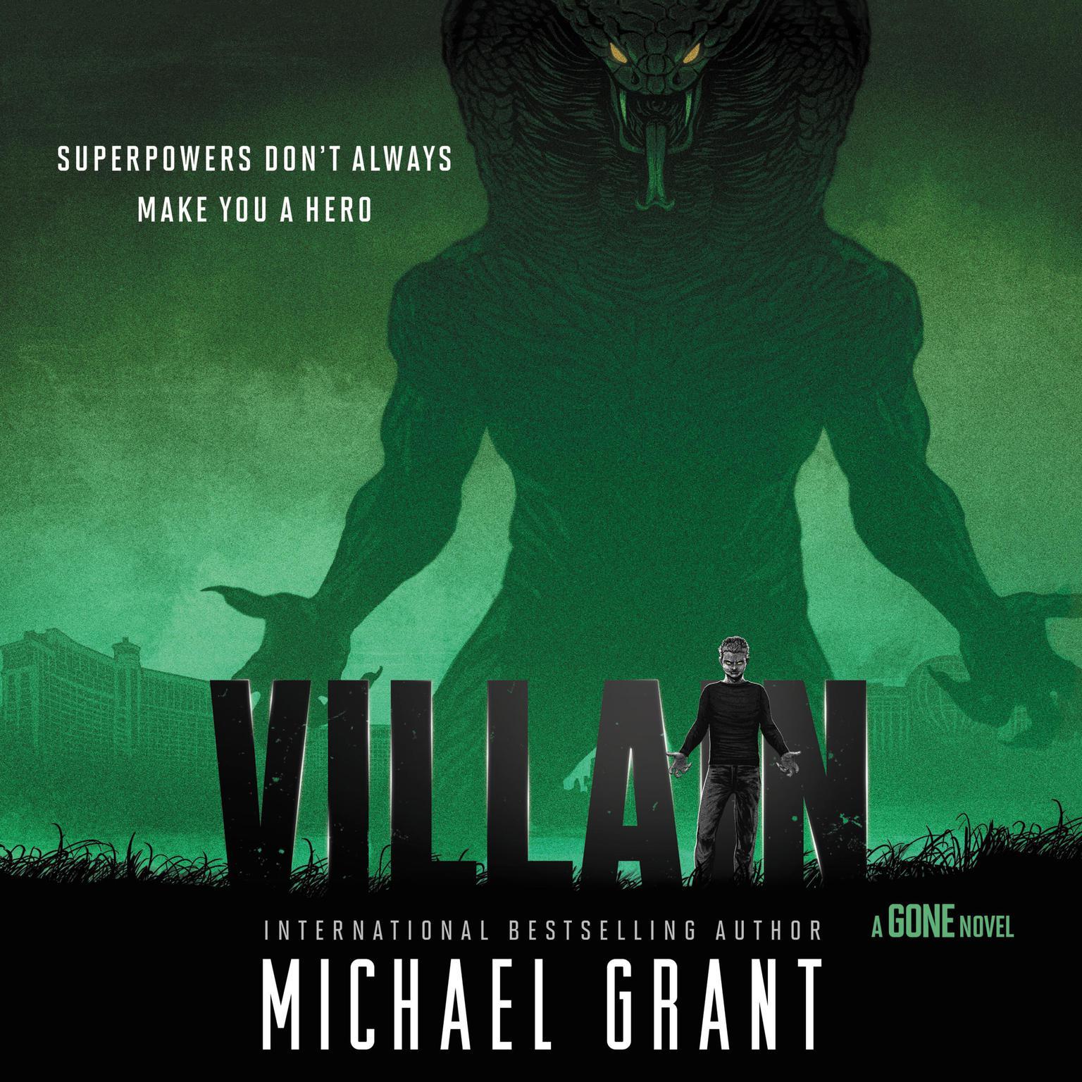 Printable Villain Audiobook Cover Art