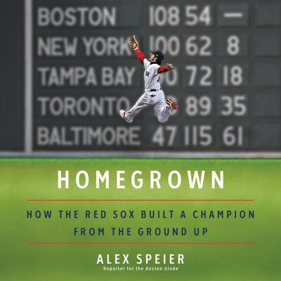 Homegrown: How the Red Sox Built a Champion from the Ground Up Audiobook, by Alex Speier