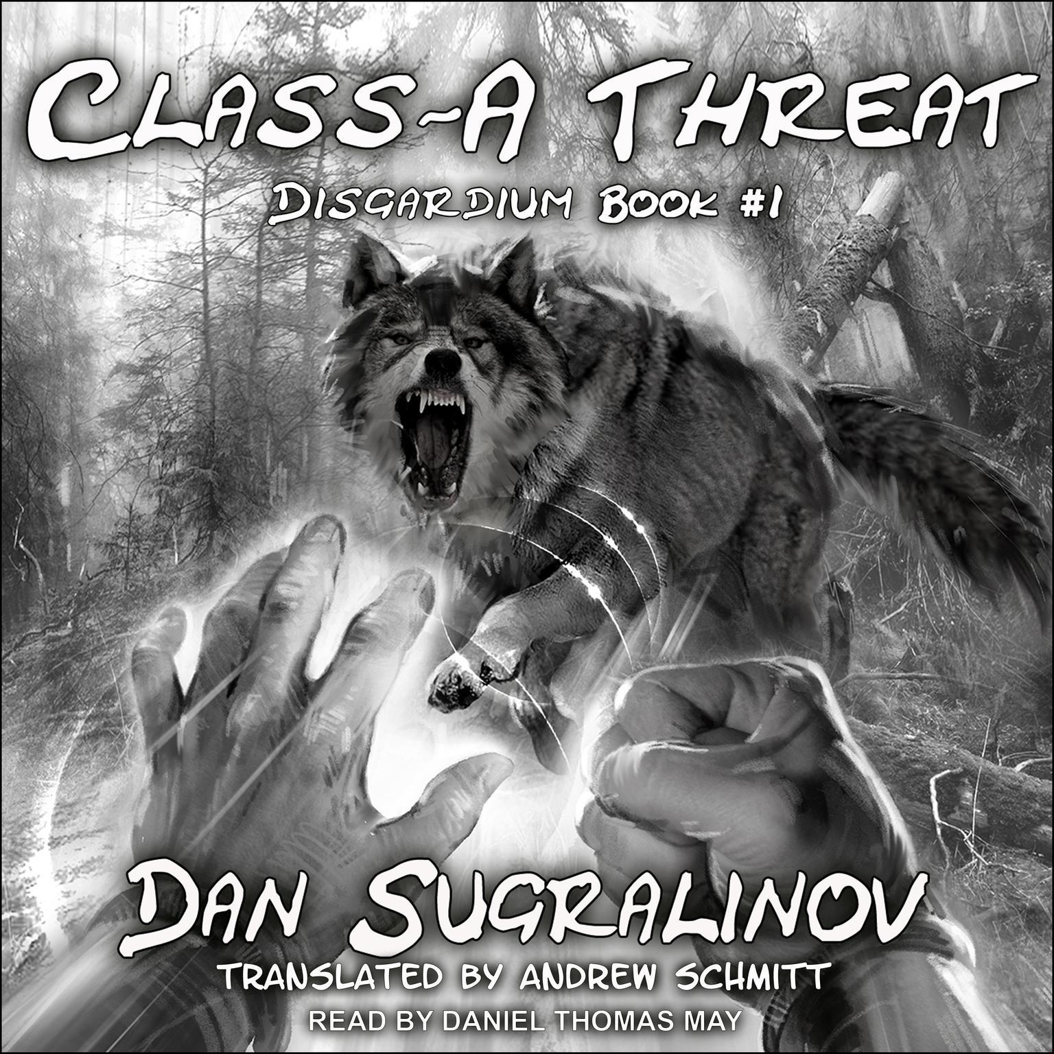 Printable Class-A Threat Audiobook Cover Art