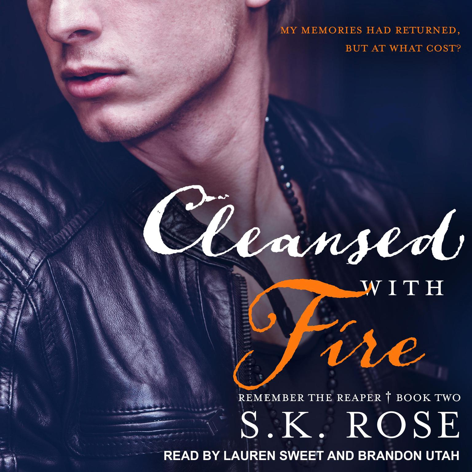 Printable Cleansed with Fire Audiobook Cover Art